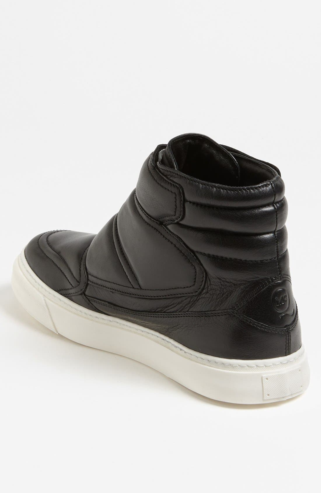 Alternate Image 2  - McQ by Alexander McQueen Leather High Cut Sneaker