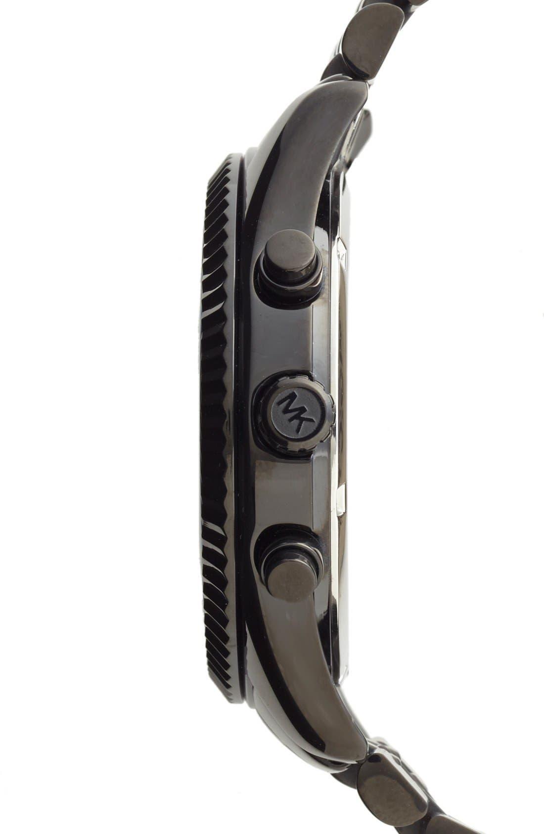 Alternate Image 3  - Michael Kors 'Large Lexington' Chronograph Bracelet Watch, 45mm