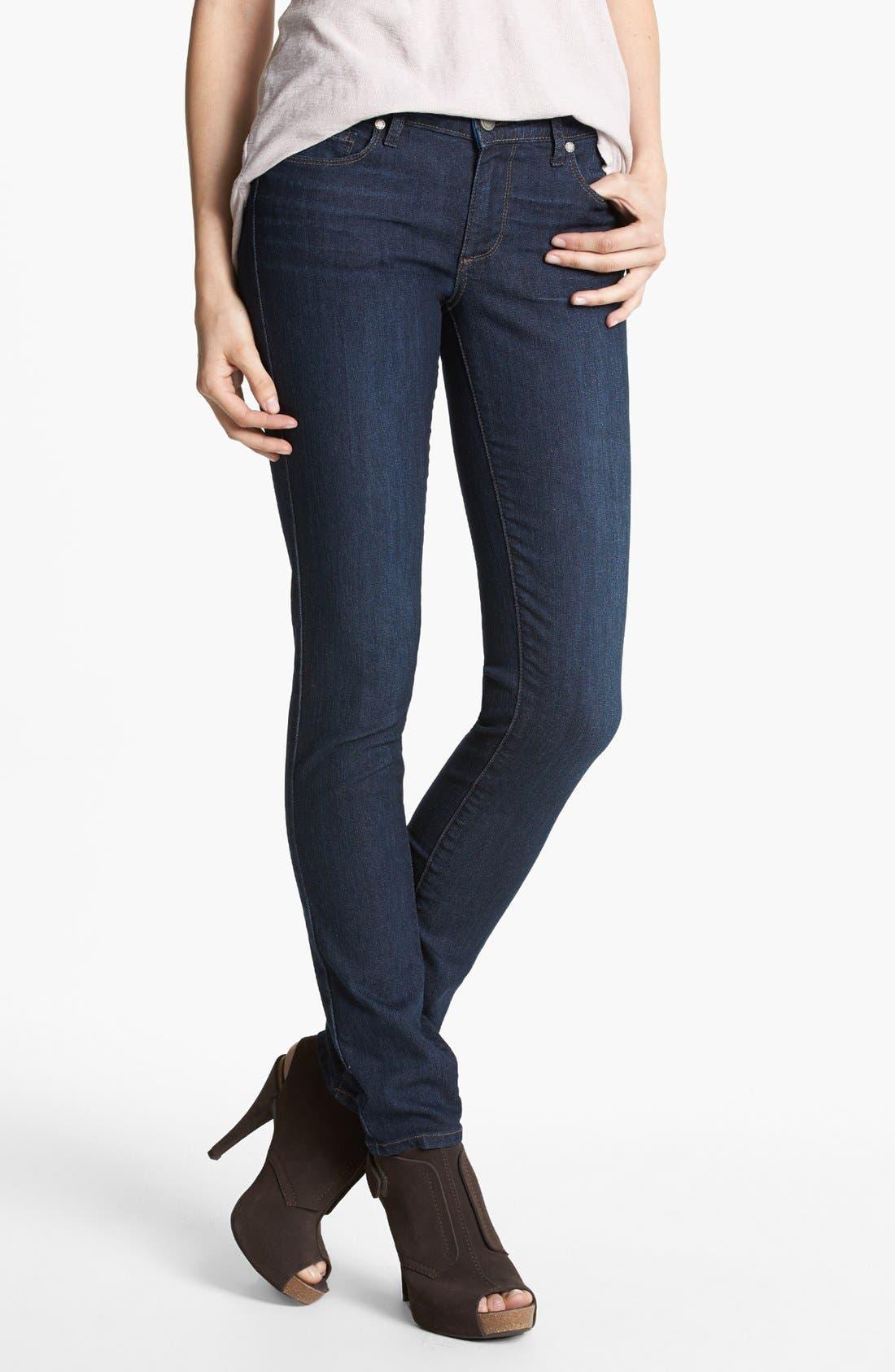 Alternate Image 1 Selected - Paige Denim 'Skyline' Skinny Jeans (Jenna)