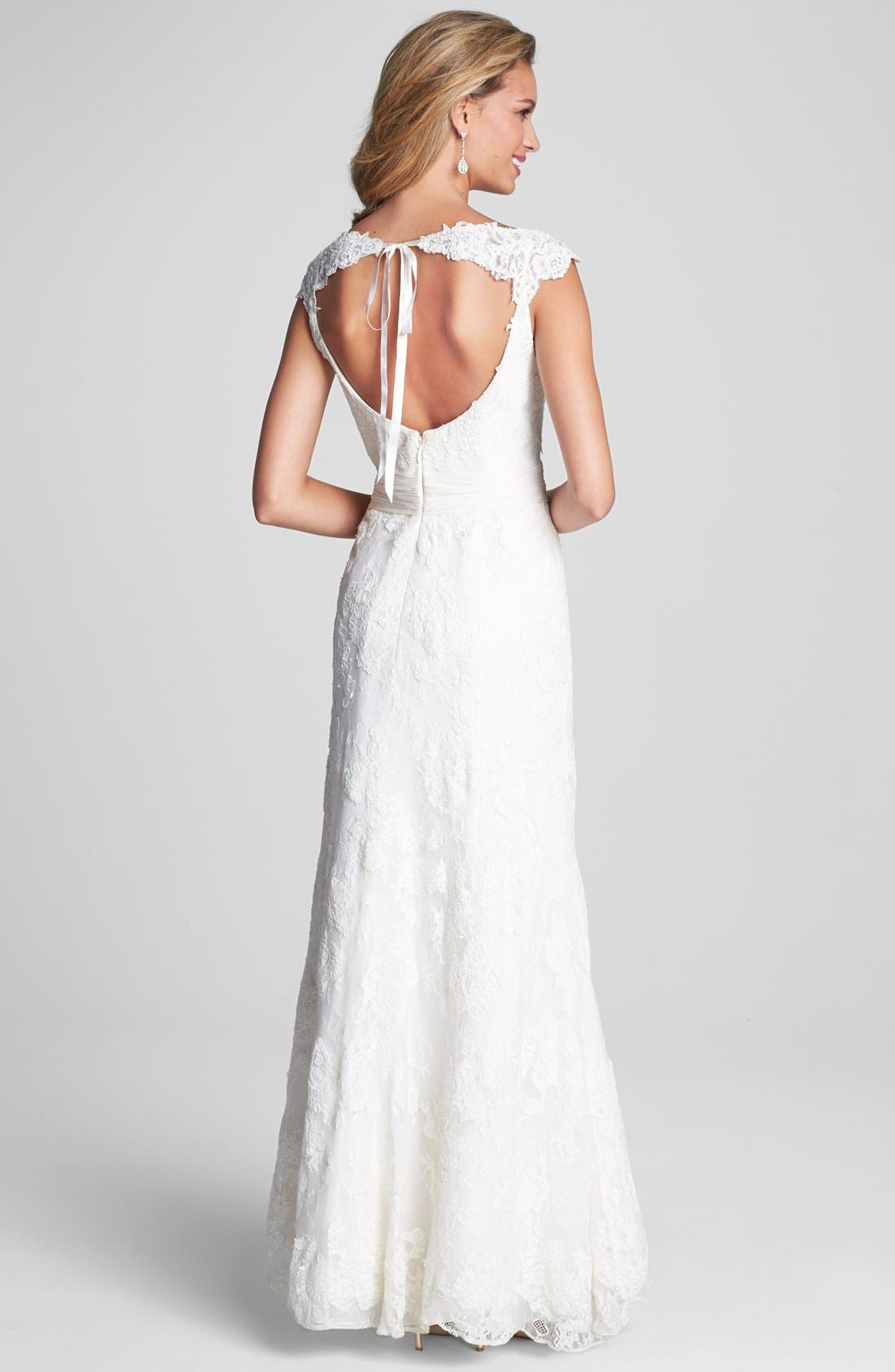Alternate Image 2  - Kelly Faetanini 'Georgina' Open Back Lace Dress (In Stores Only)
