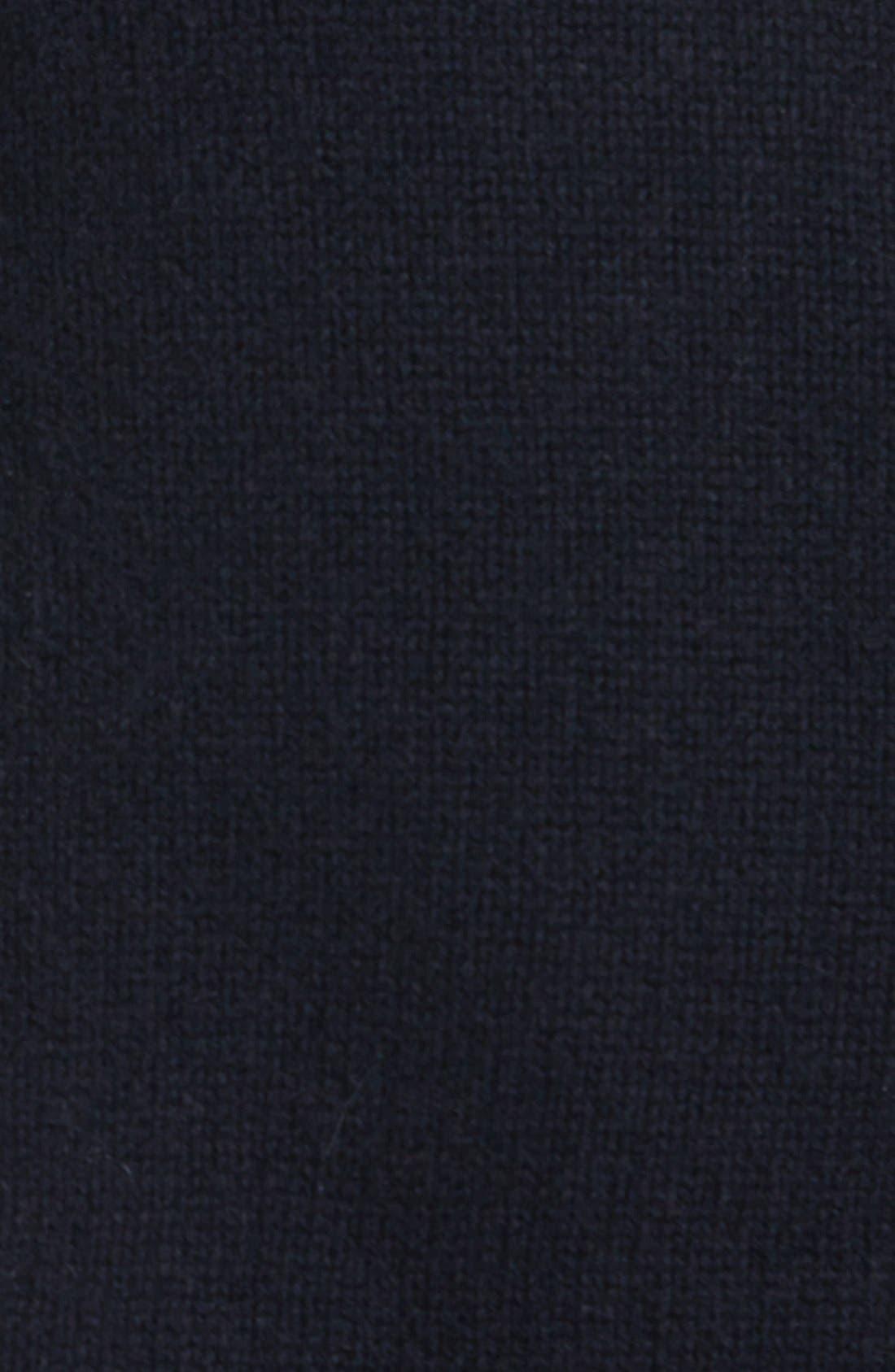 Alternate Image 3  - Pure Amici Colorblock Cashmere Turtleneck Sweater