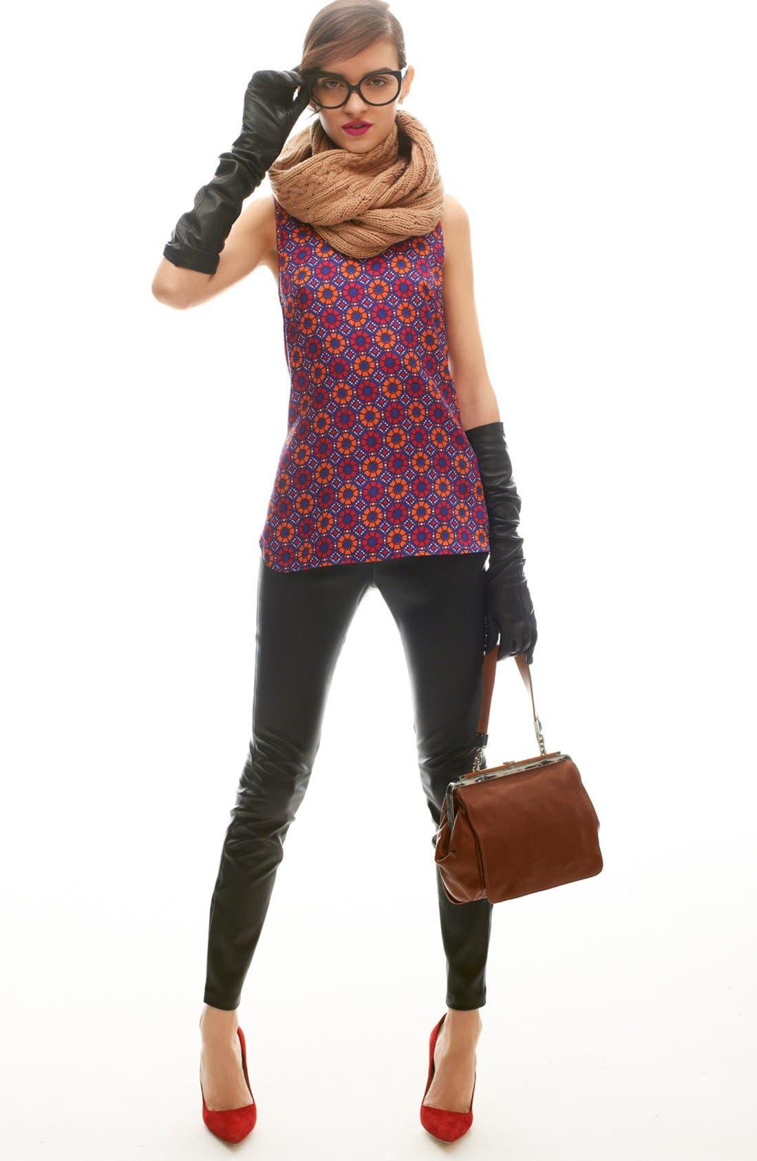 Alternate Image 5  - Miss Wu Leather Leggings (Nordstrom Exclusive)