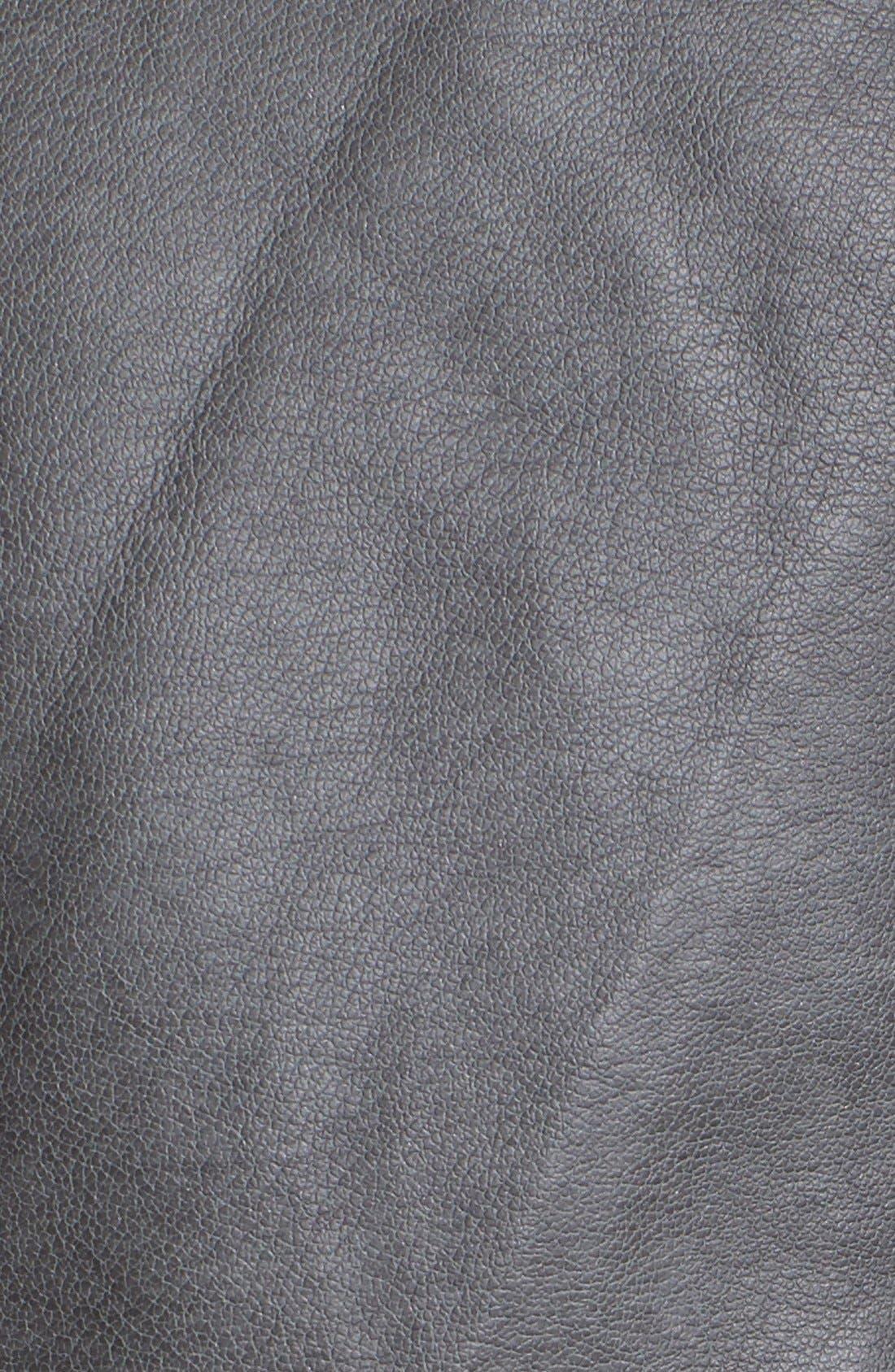 Alternate Image 6  - Jessica Simpson 'Heathcliff' Hooded Faux Leather Jacket