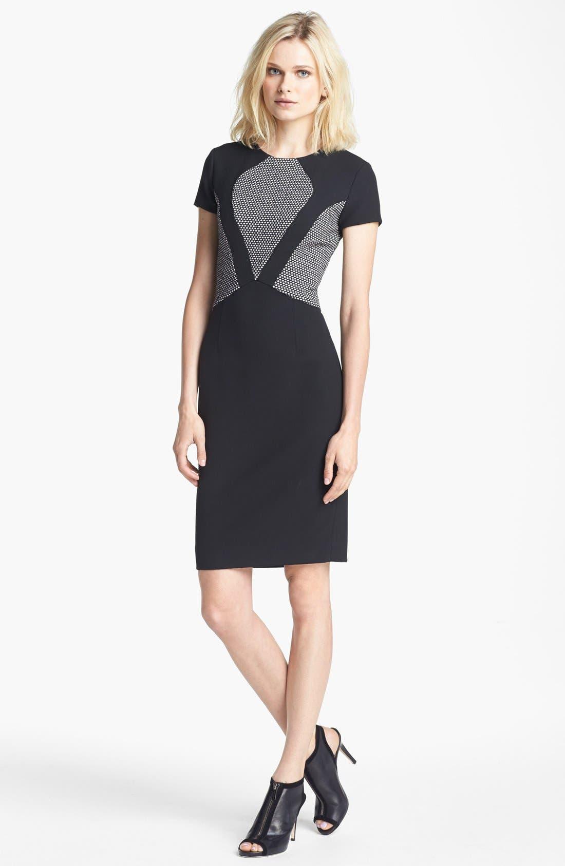 Alternate Image 1 Selected - L'AGENCE Fabric Block Dress