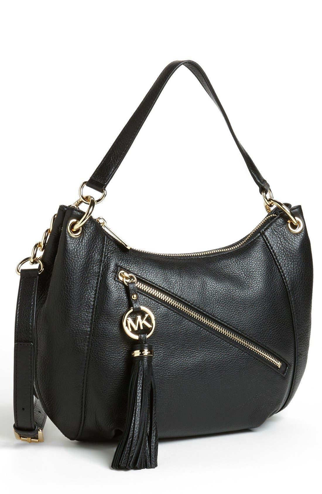 Main Image - MICHAEL Michael Kors 'Charm Tassel' Convertible Shoulder Bag, Medium