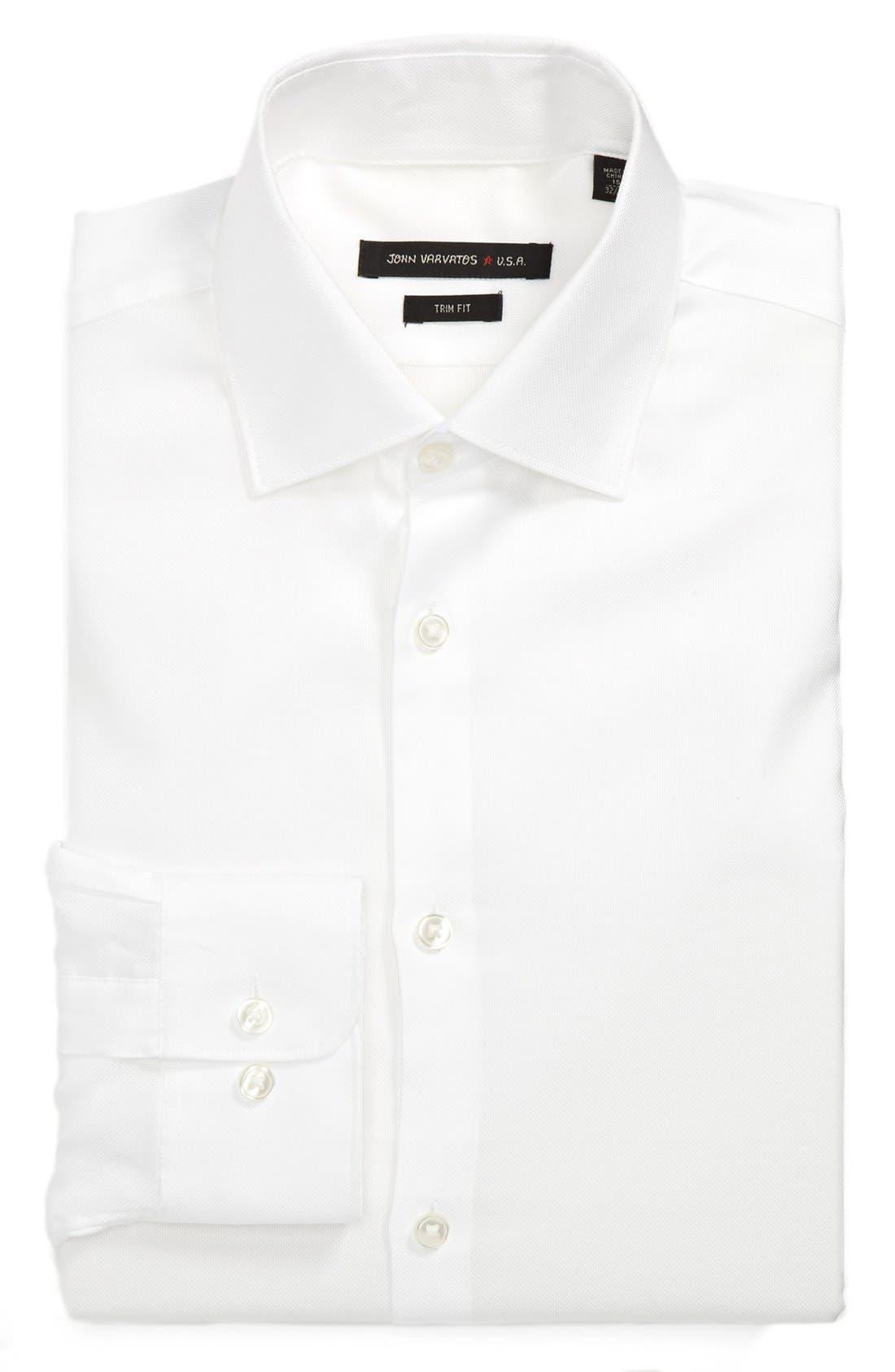 Main Image - John Varvatos Star USA Trim Fit Dress Shirt