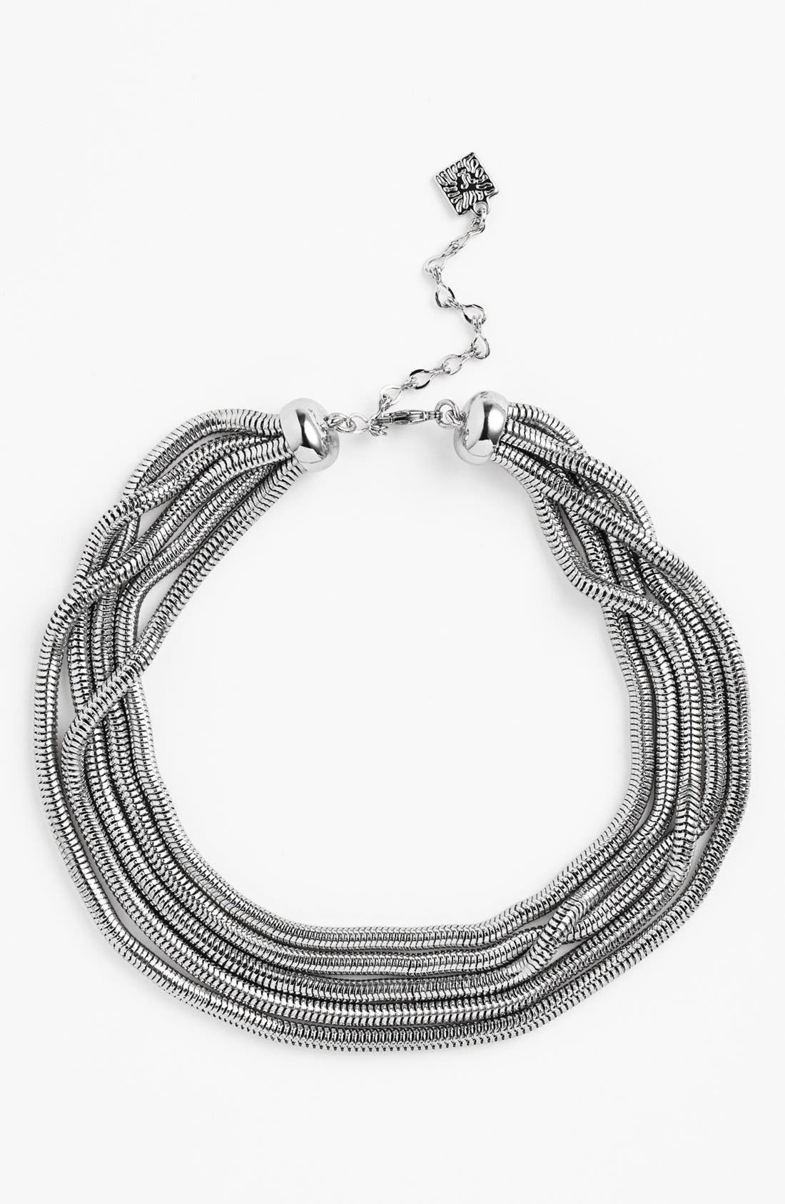 Alternate Image 1 Selected - Anne Klein Multistrand Collar Necklace