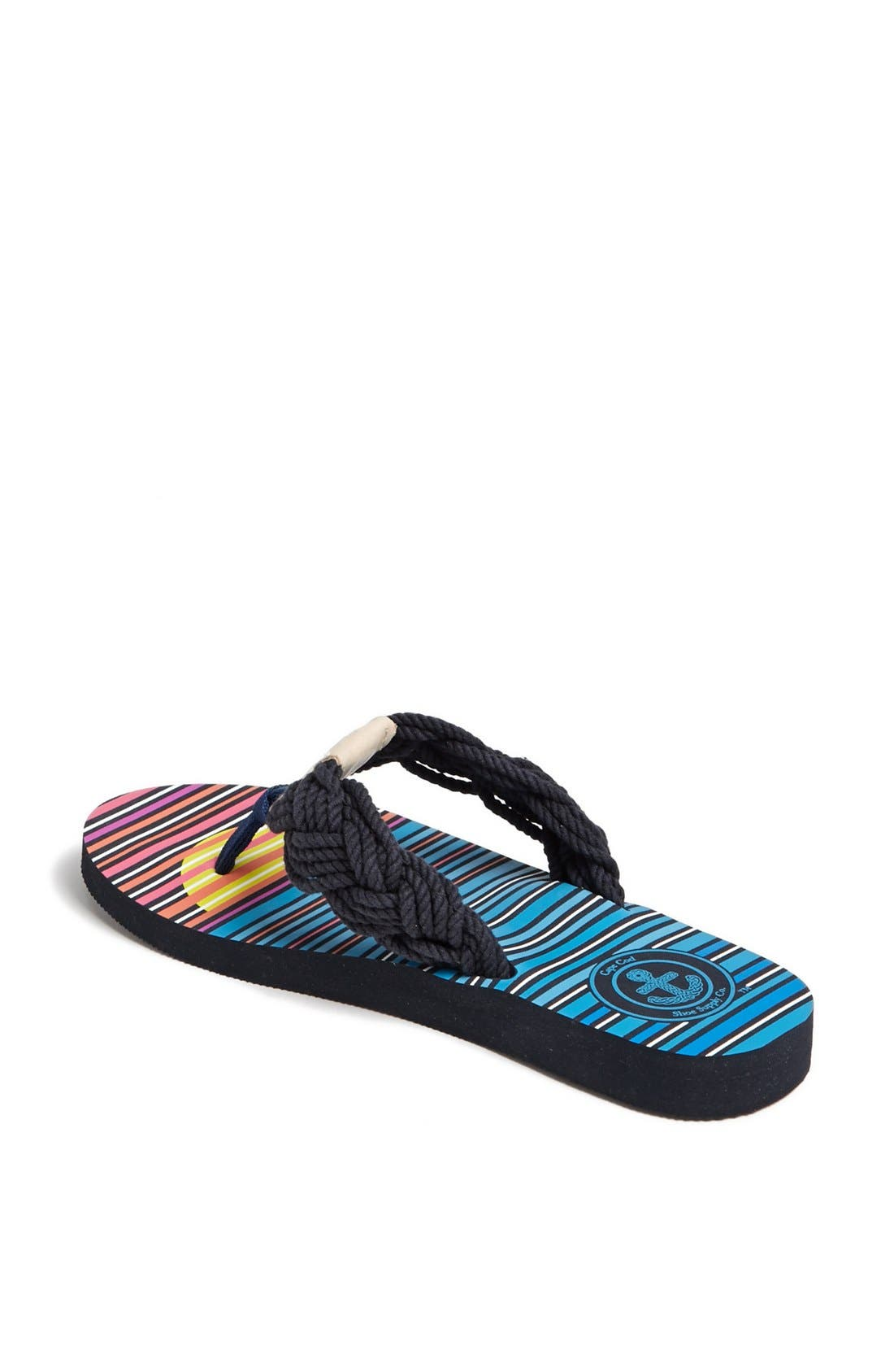 Alternate Image 2  - Cape Cod Shoe Supply Co. 'Mainsail' Flip Flop