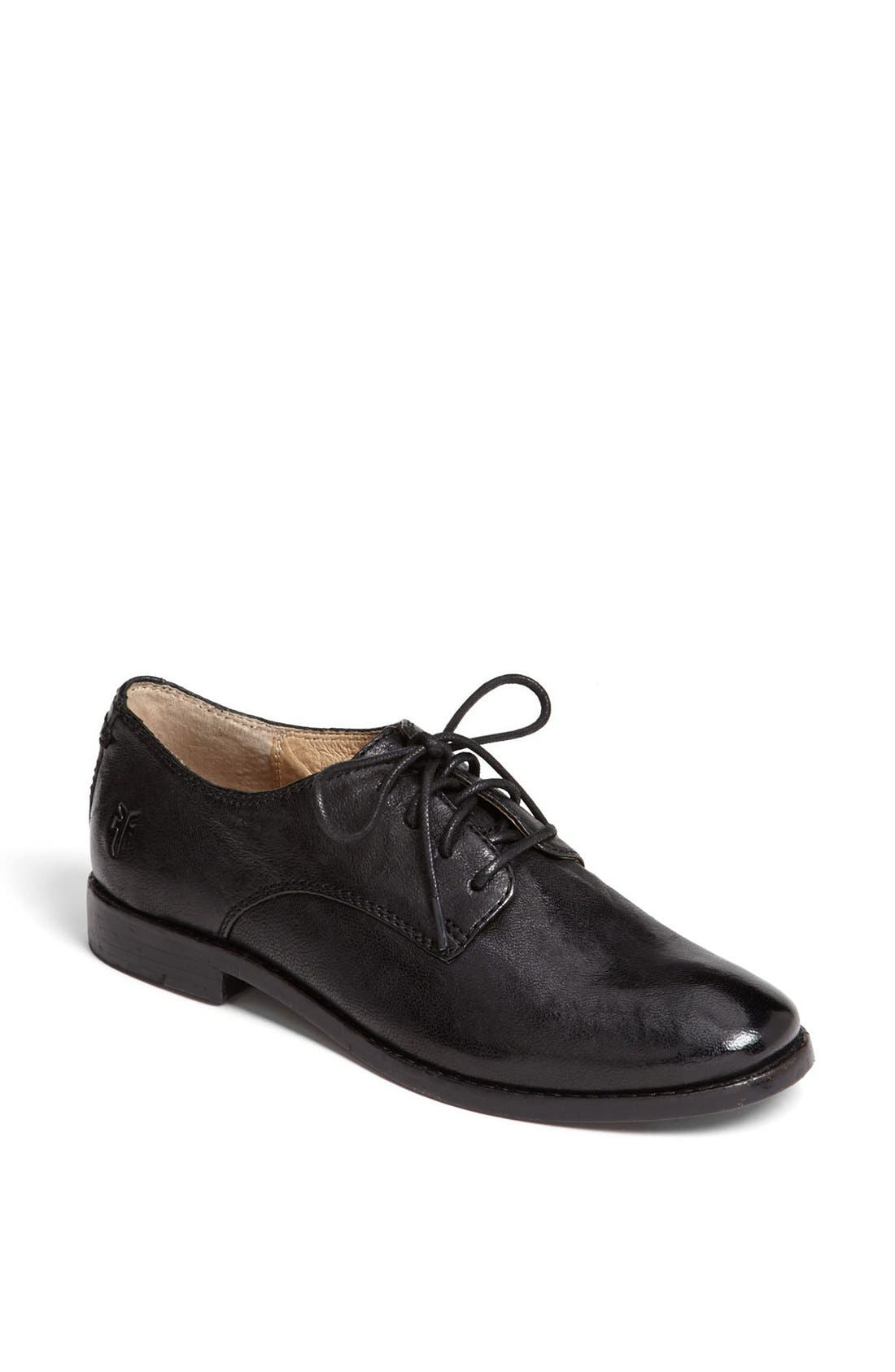 Alternate Image 1 Selected - Frye 'Anna' Oxford Flat (Women)