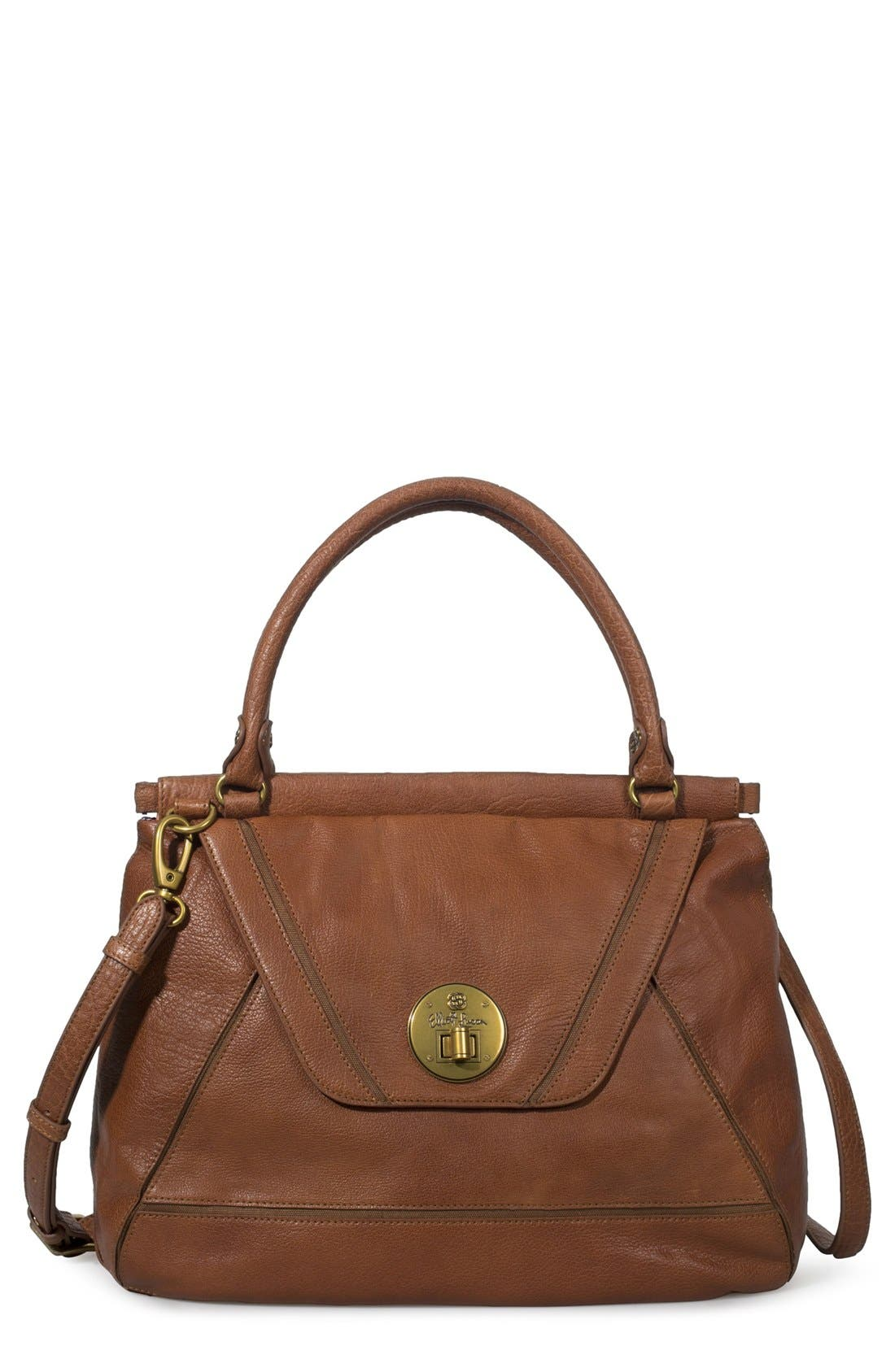 Alternate Image 1 Selected - Elliott Lucca 'Cordoba' Leather Satchel, Medium