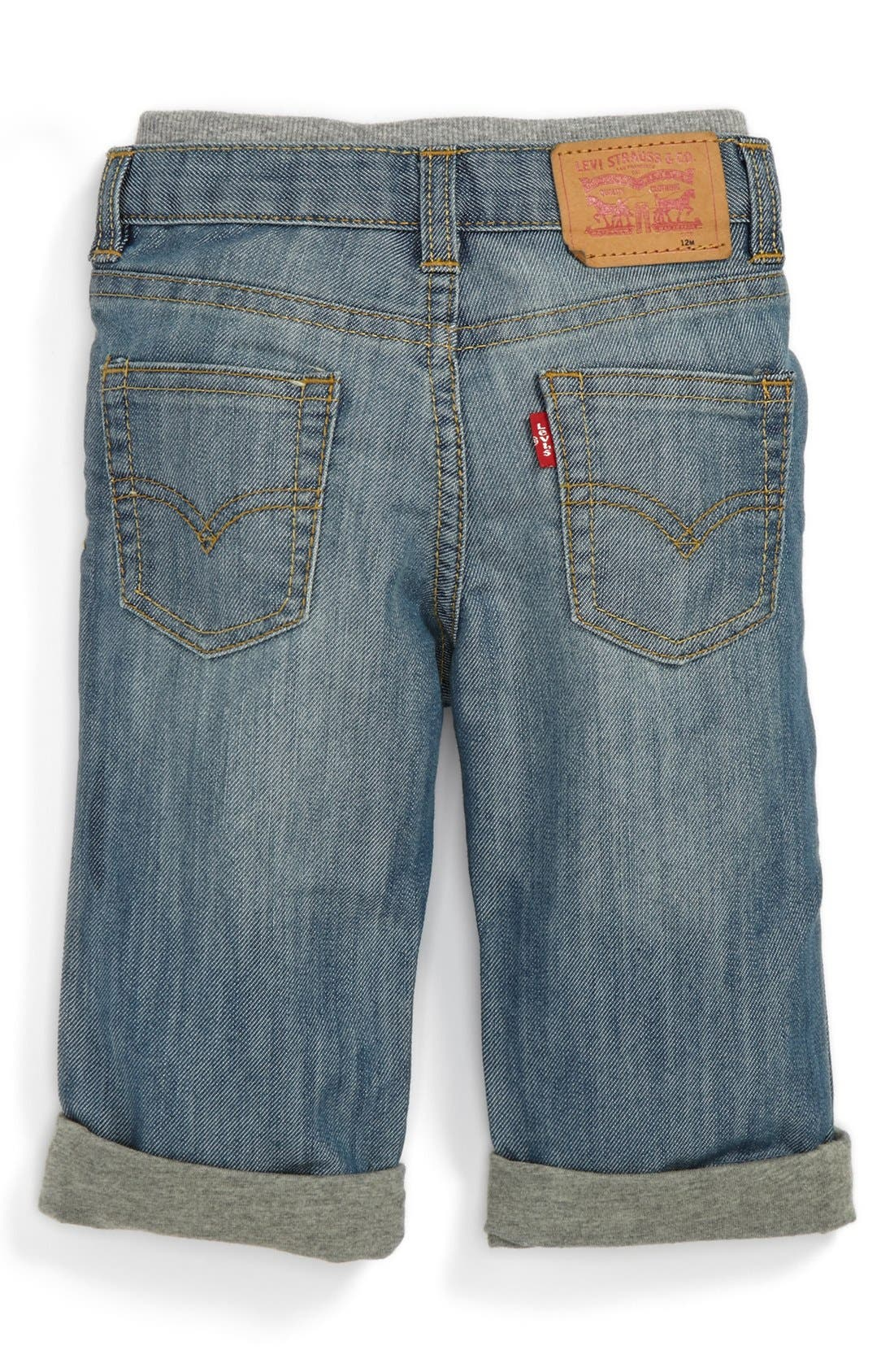 Alternate Image 1 Selected - Levi's '514™' Straight Leg Jeans (Toddler Boys)