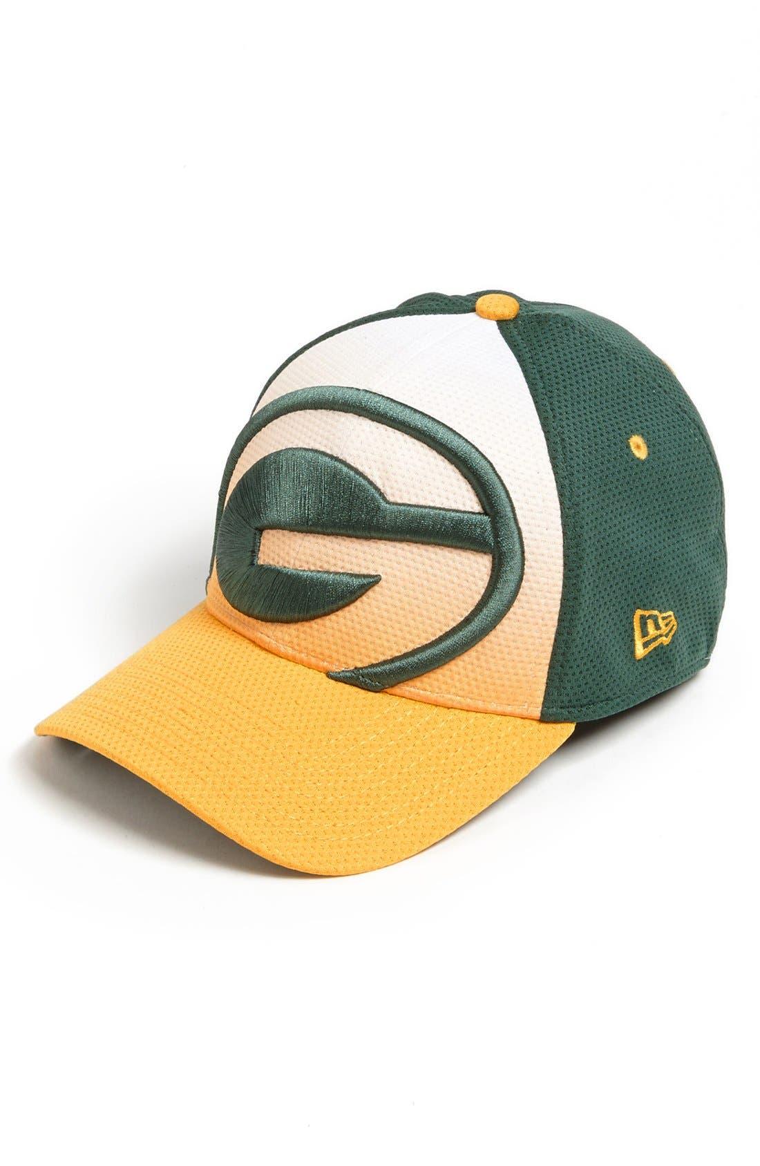 Alternate Image 1 Selected - New Era Cap 'Gradation - Green Bay Packers' Baseball Cap