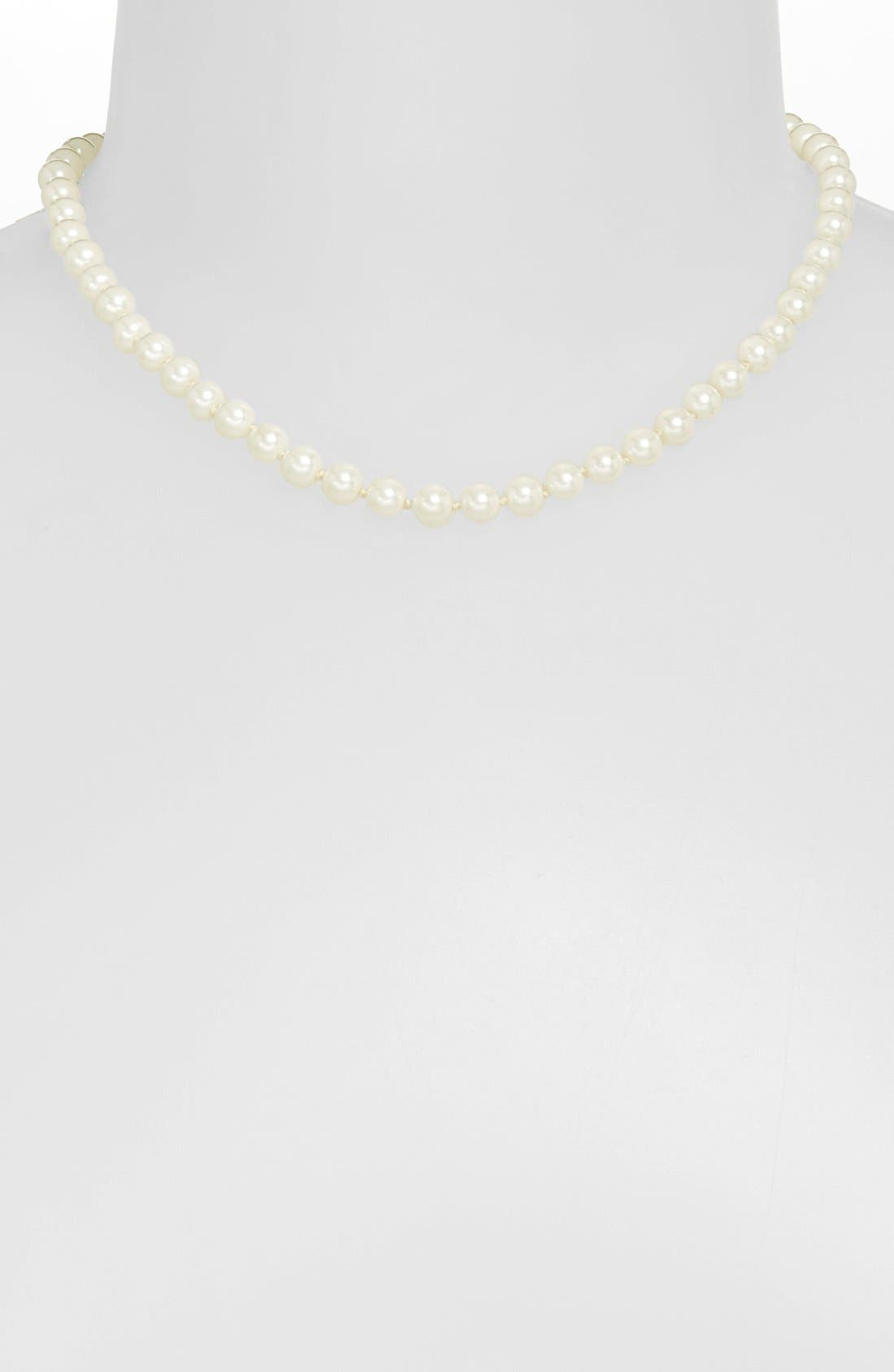 Alternate Image 1 Selected - Lauren Ralph Lauren Glass Pearl Necklace