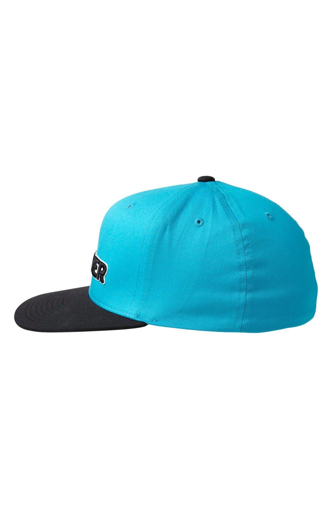 Alternate Image 2  - Quiksilver 'Workmark' Baseball Cap (Toddler Boys)