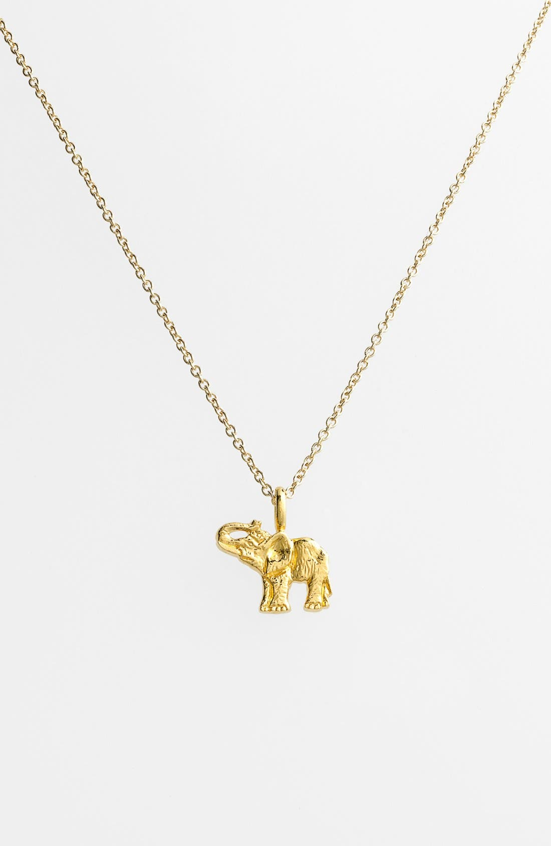 Alternate Image 3  - Dogeared 'Reminder - Live Large' Boxed Elephant Pendant Necklace