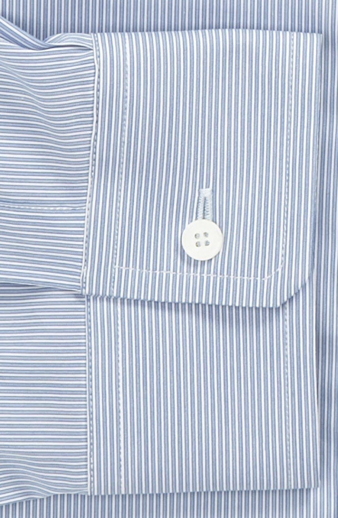 Alternate Image 2  - Burberry London Stripe Tailored Fit Dress Shirt