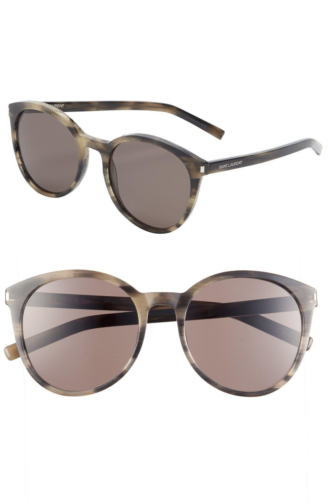 Alternate Image 1 Selected - Saint Laurent 54mm Retro Sunglasses