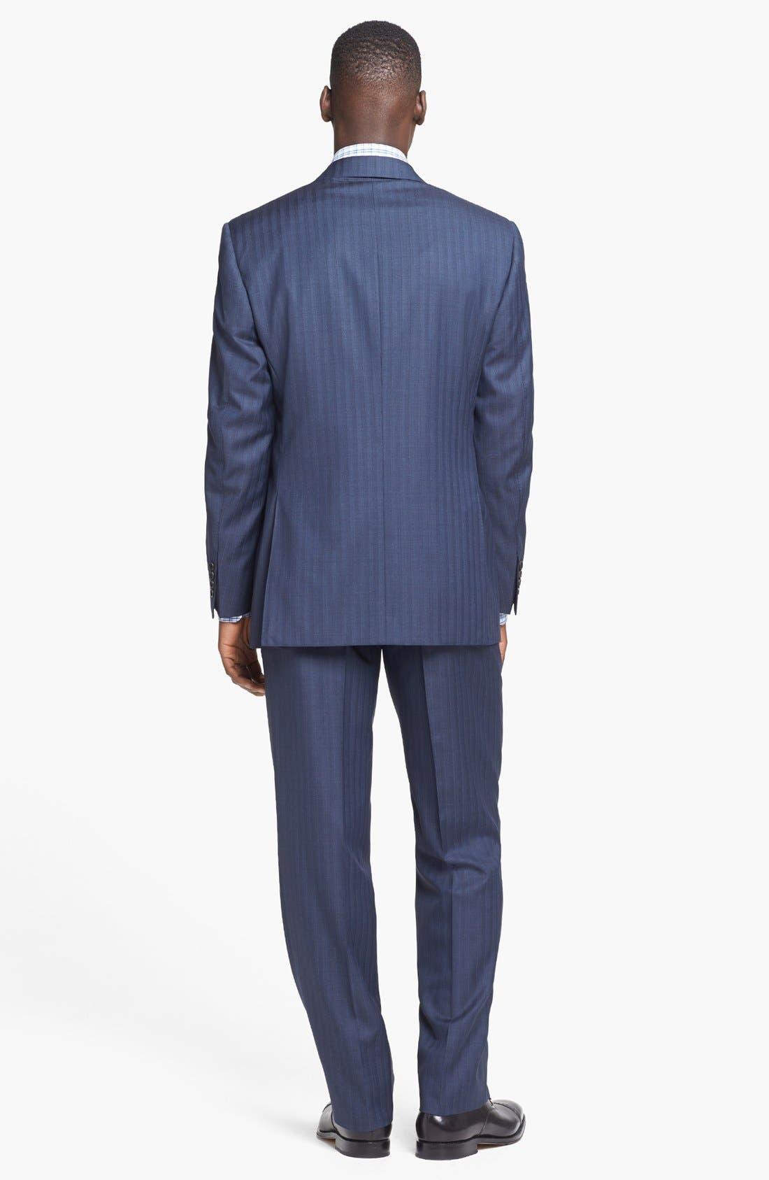 Alternate Image 2  - Canali Suit & BOSS HUGO BOSS Dress Shirt