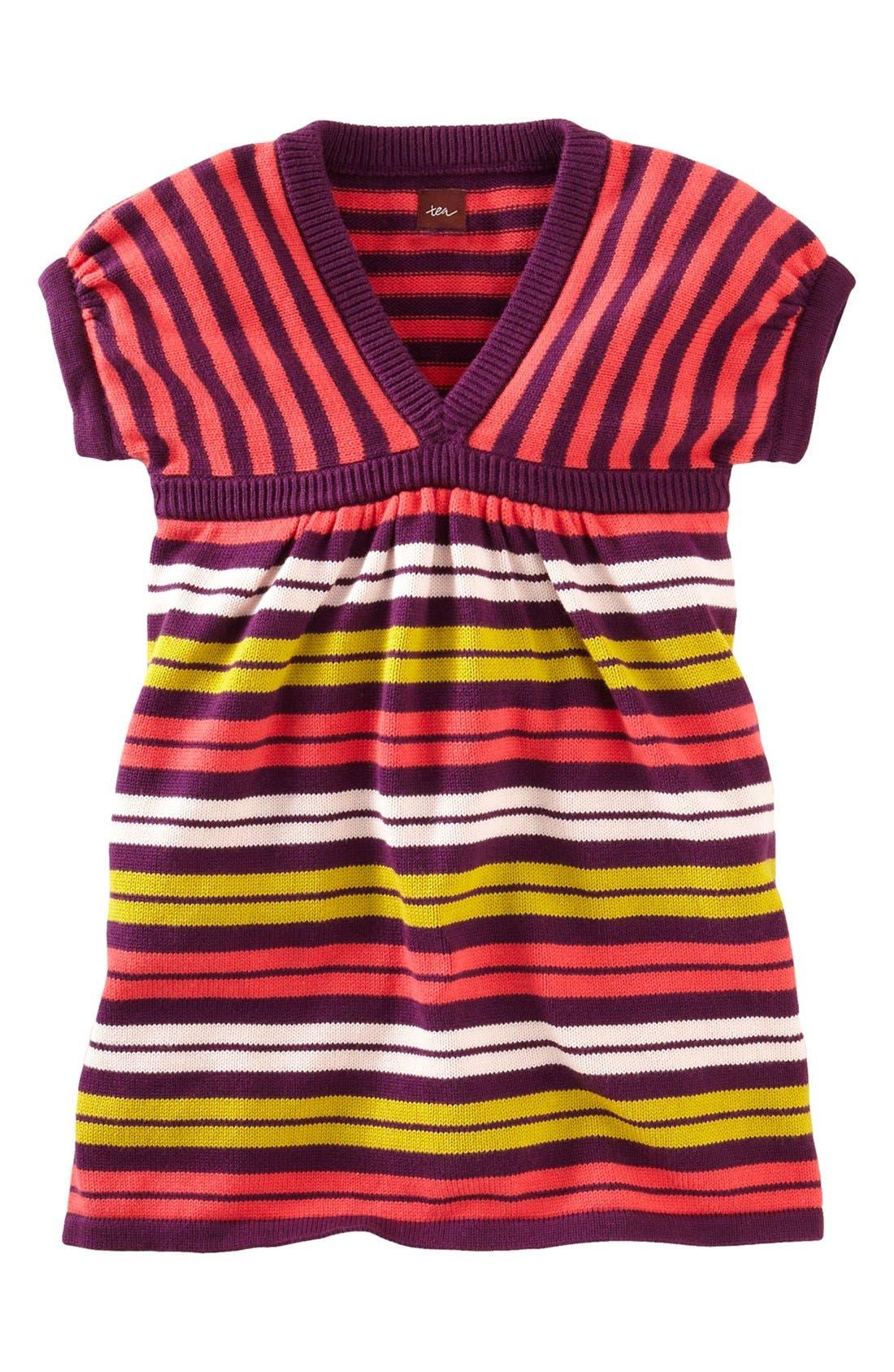 Alternate Image 1 Selected - Tea Collection 'Art Village' Sweater Dress (Little Girls & Big Girls)