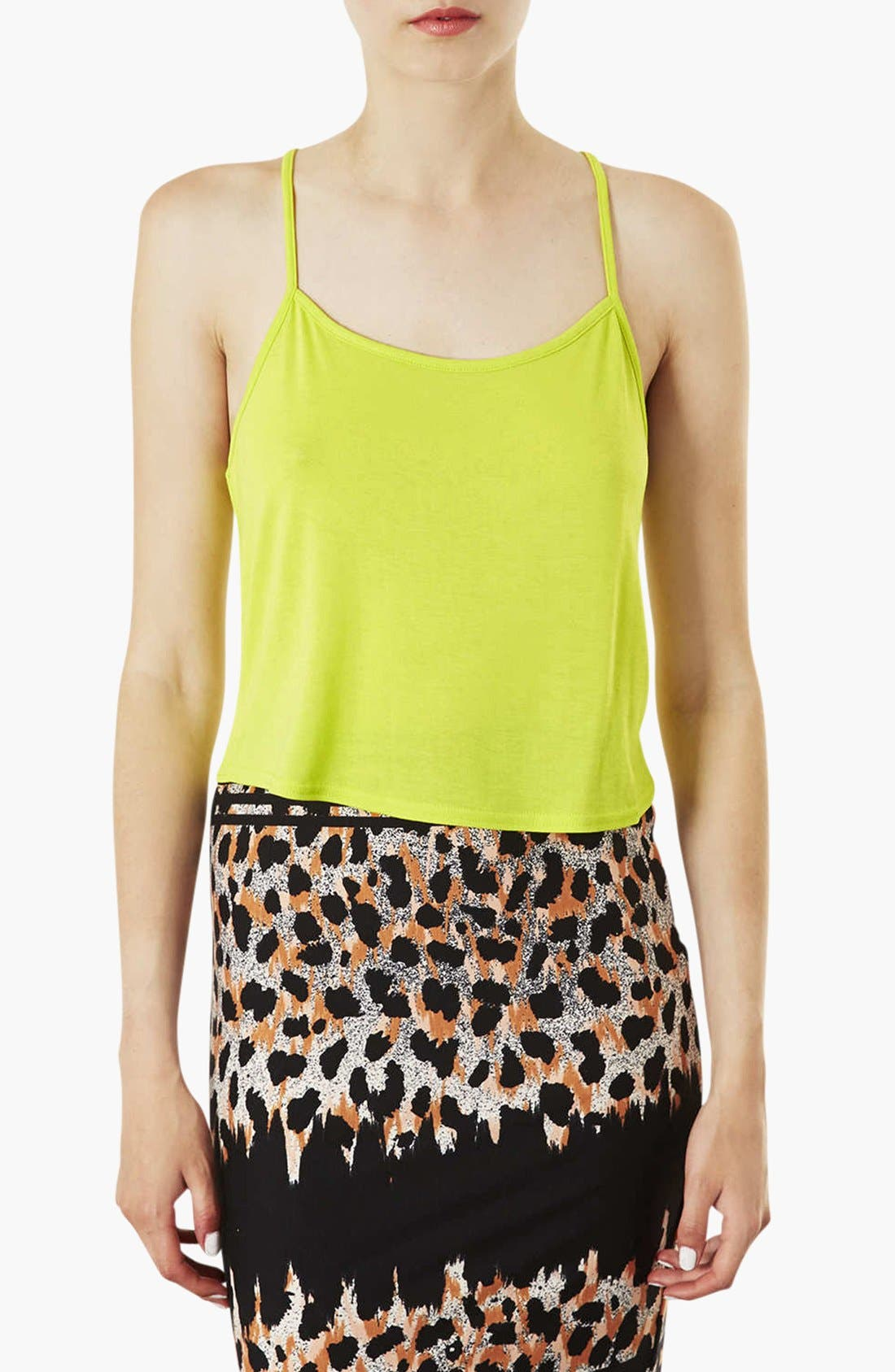 Alternate Image 1 Selected - Topshop Crop Camisole