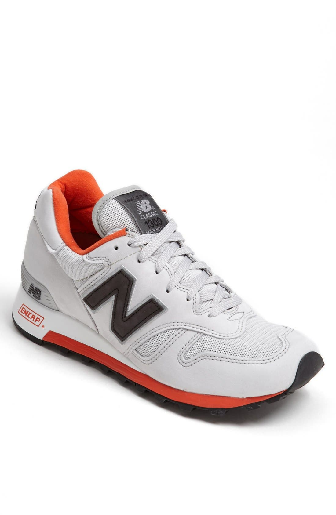 '1300 Classic' Sneaker,                             Main thumbnail 1, color,                             Grey/ Red