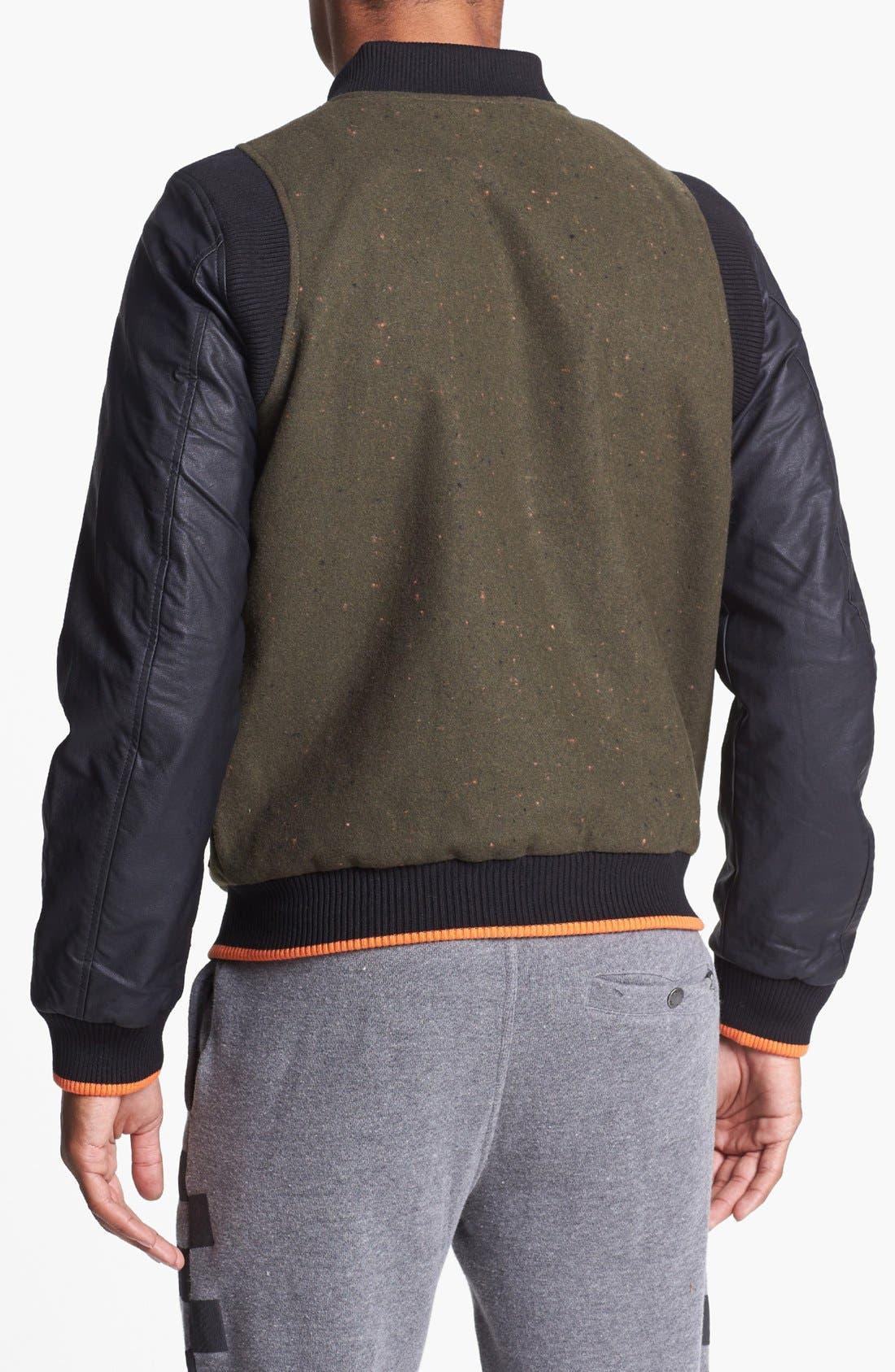 Alternate Image 2  - 55DSL 'Jomstone' Varsity Jacket