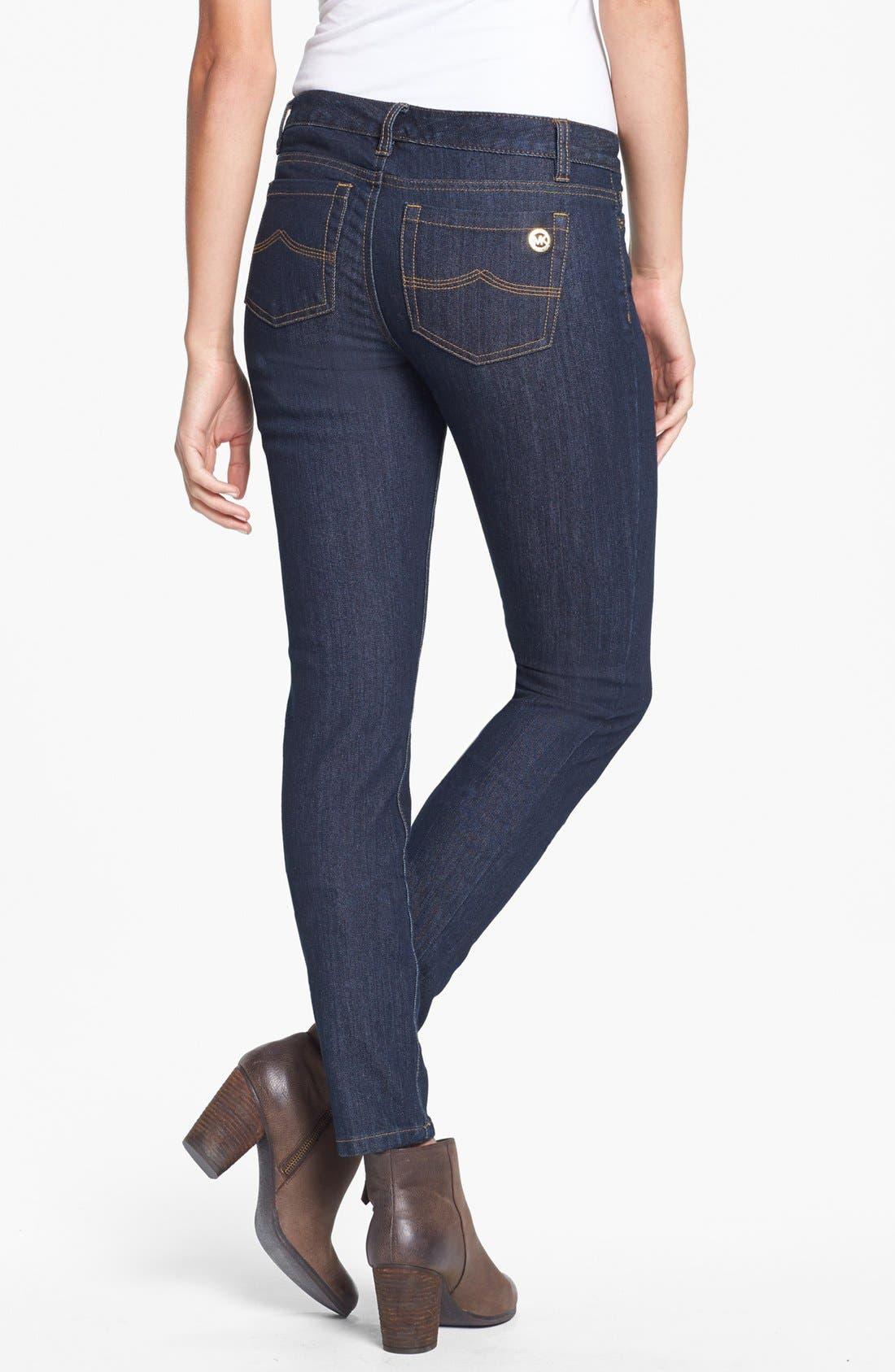 Alternate Image 2  - MICHAEL Michael Kors 'Sausalito' Skinny Jeans (Petite)