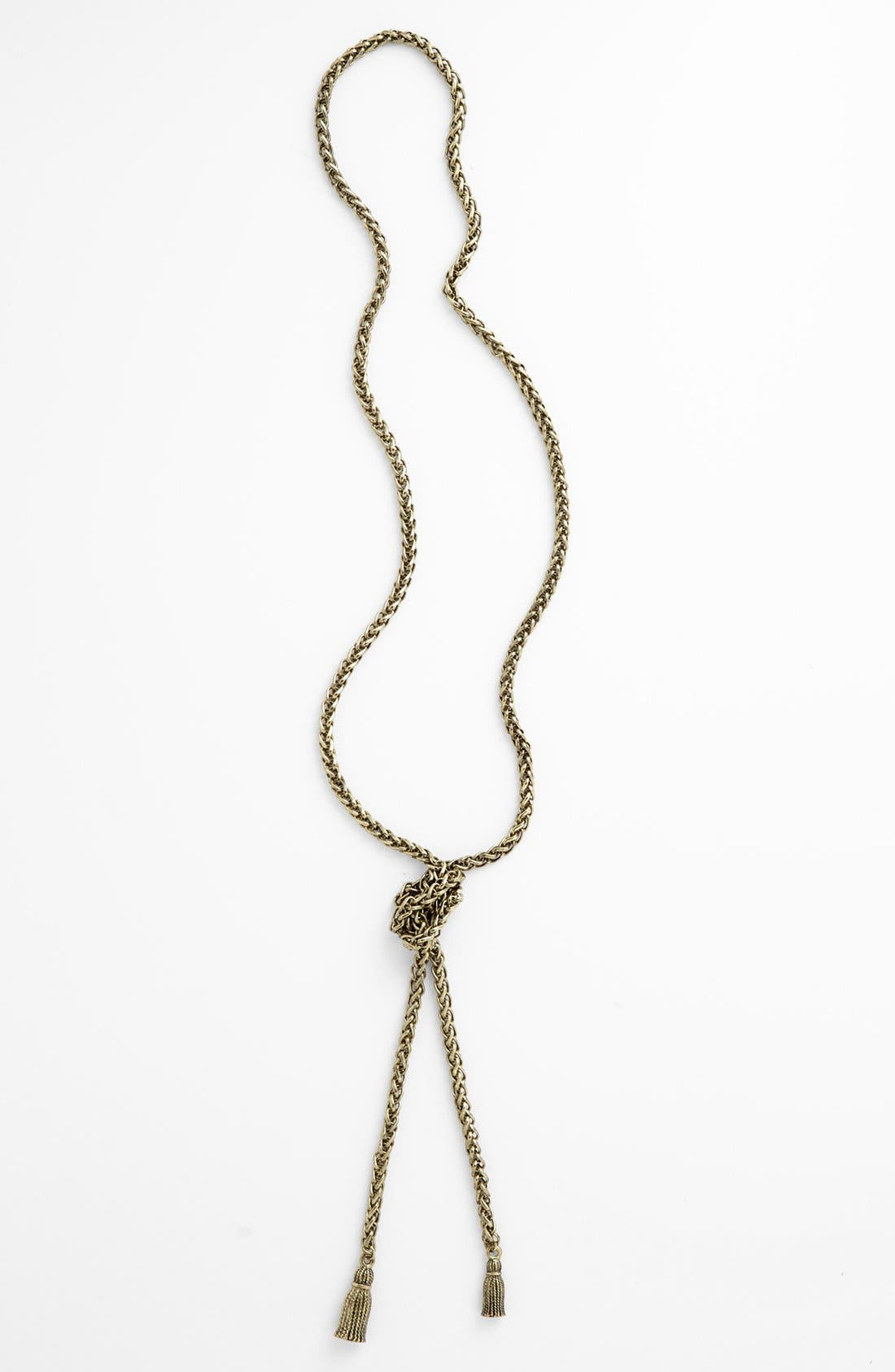 Alternate Image 1 Selected - Leith Chain Rope Necklace