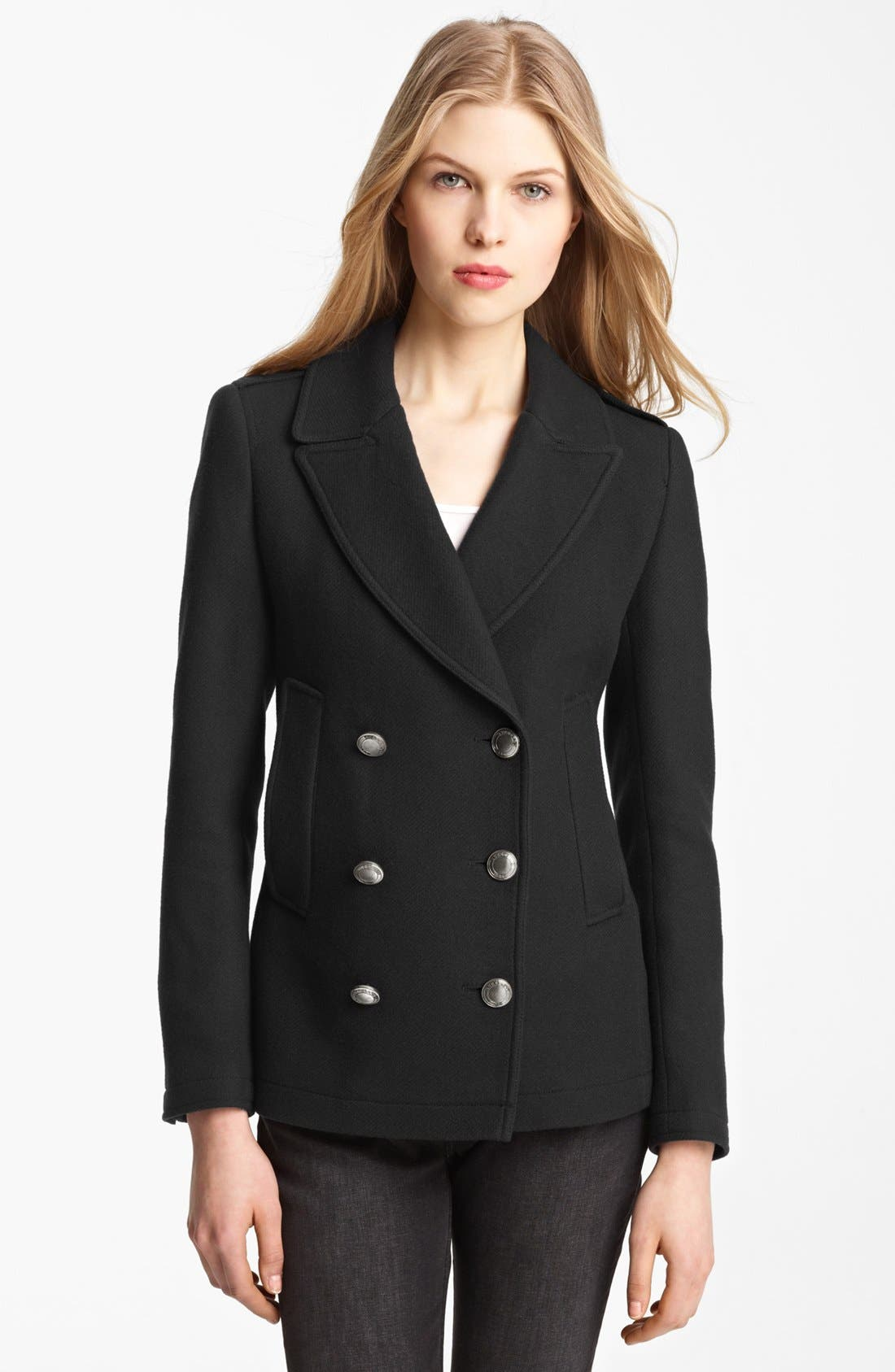 Alternate Image 1 Selected - Burberry Brit 'Topcliffe' Peacoat