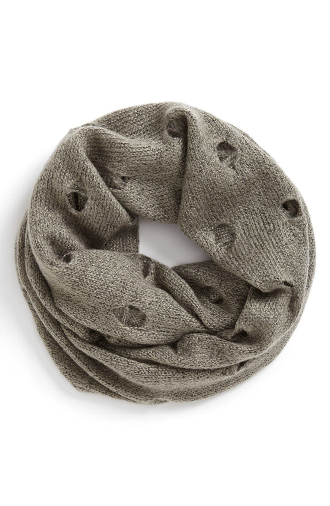 Alternate Image 1 Selected - Steve Madden Holey Infinity Scarf
