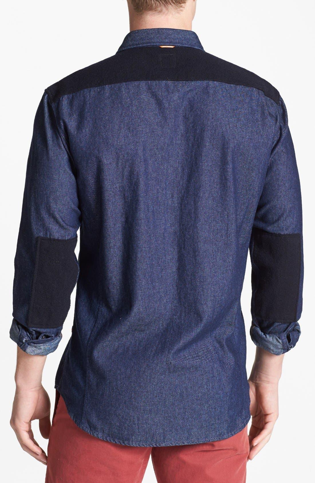 Alternate Image 2  - BOSS Orange 'Eddaiee' Contrast Trim Sport Shirt