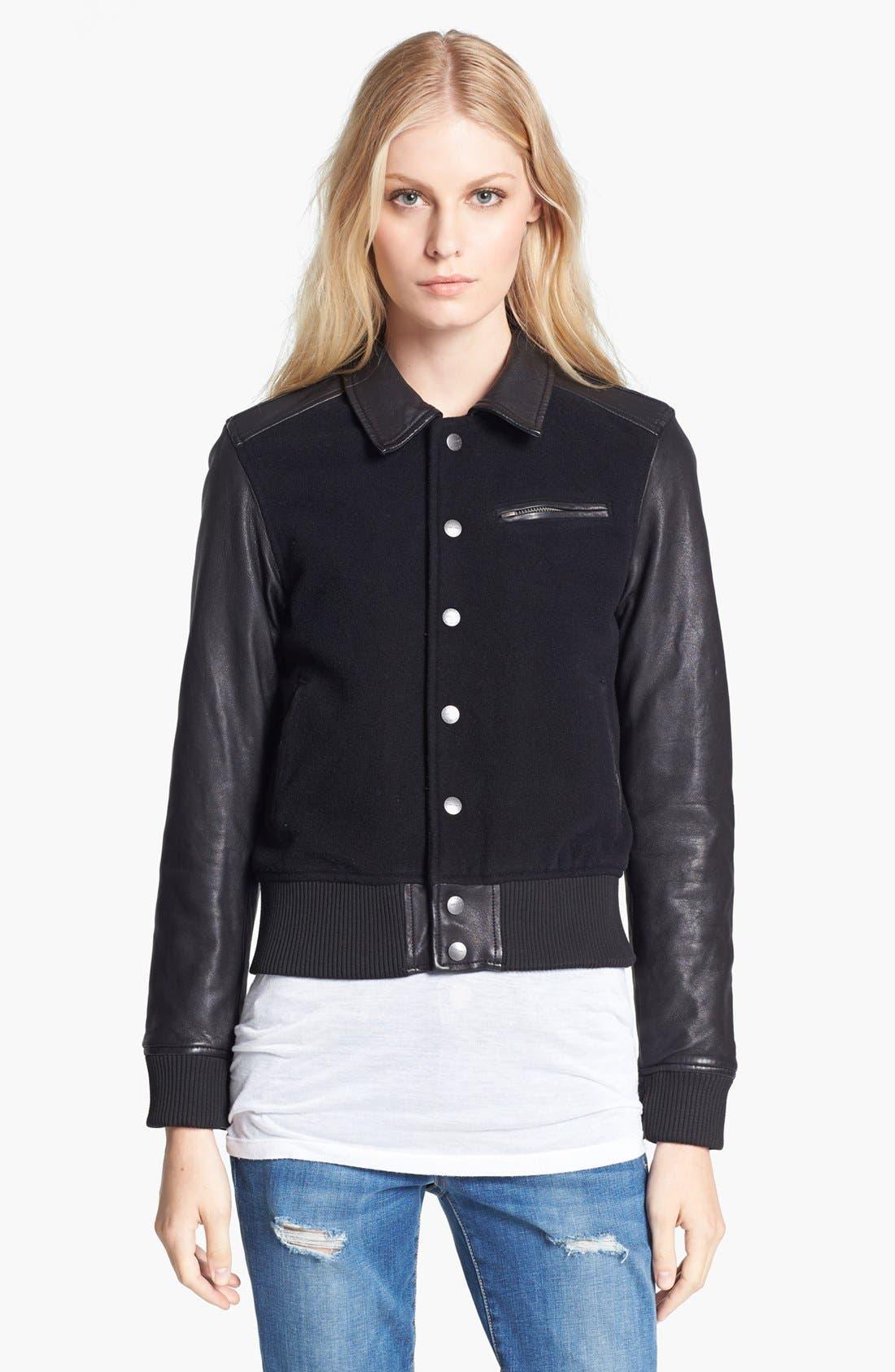 Alternate Image 3  - Current/Elliott 'The Varsity' Jacket