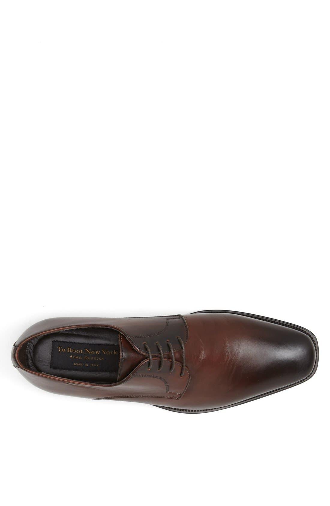 Alternate Image 3  - To Boot New York 'Felix' Plain Toe Derby (Men)
