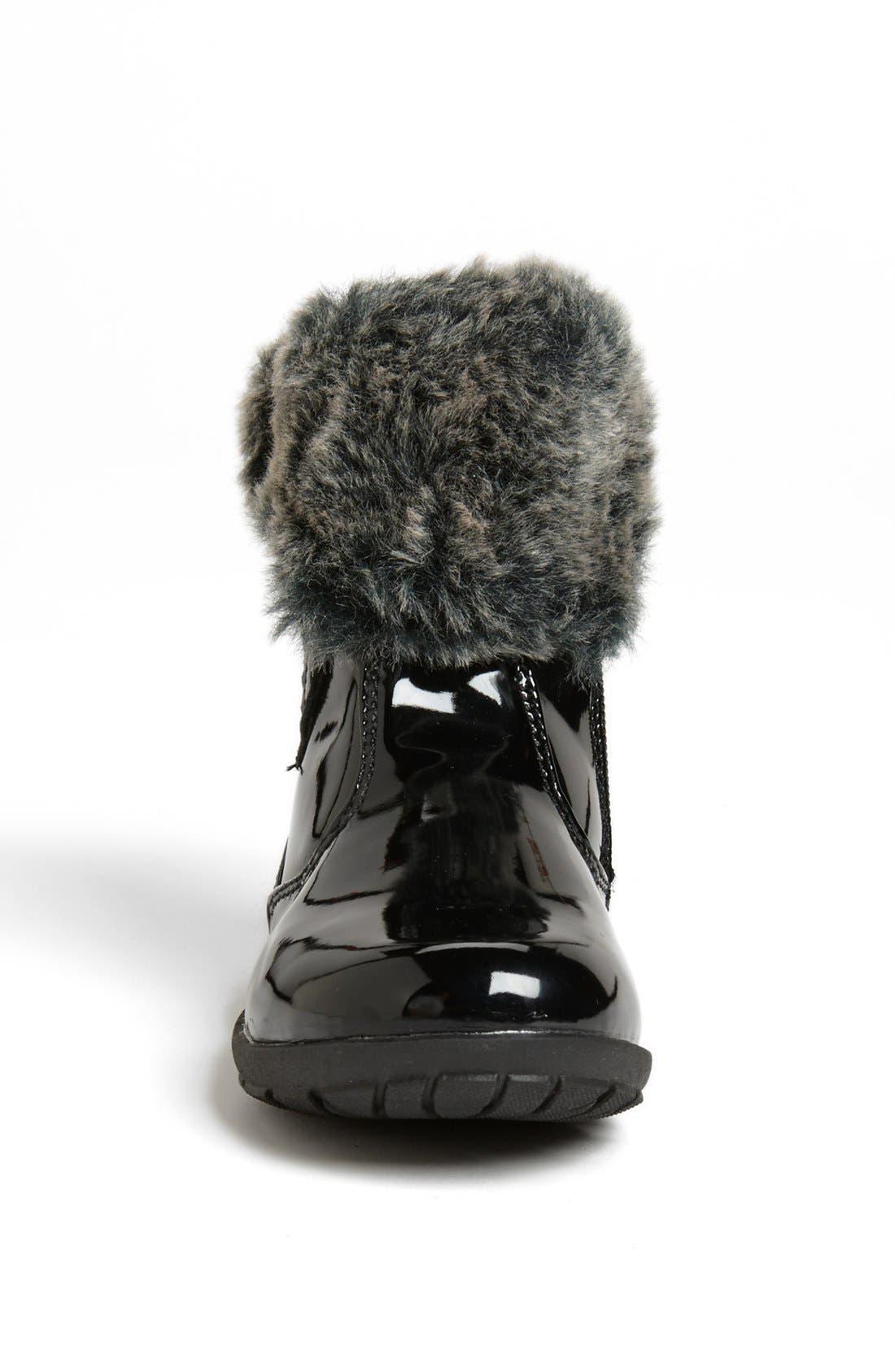 Alternate Image 3  - kensie girl Faux Fur Trim Boot (Walker & Toddler)