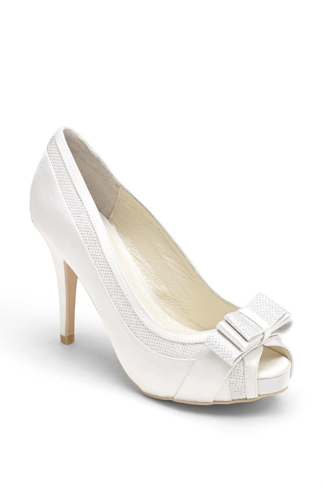 Bow Pump,                         Main,                         color, Ivory