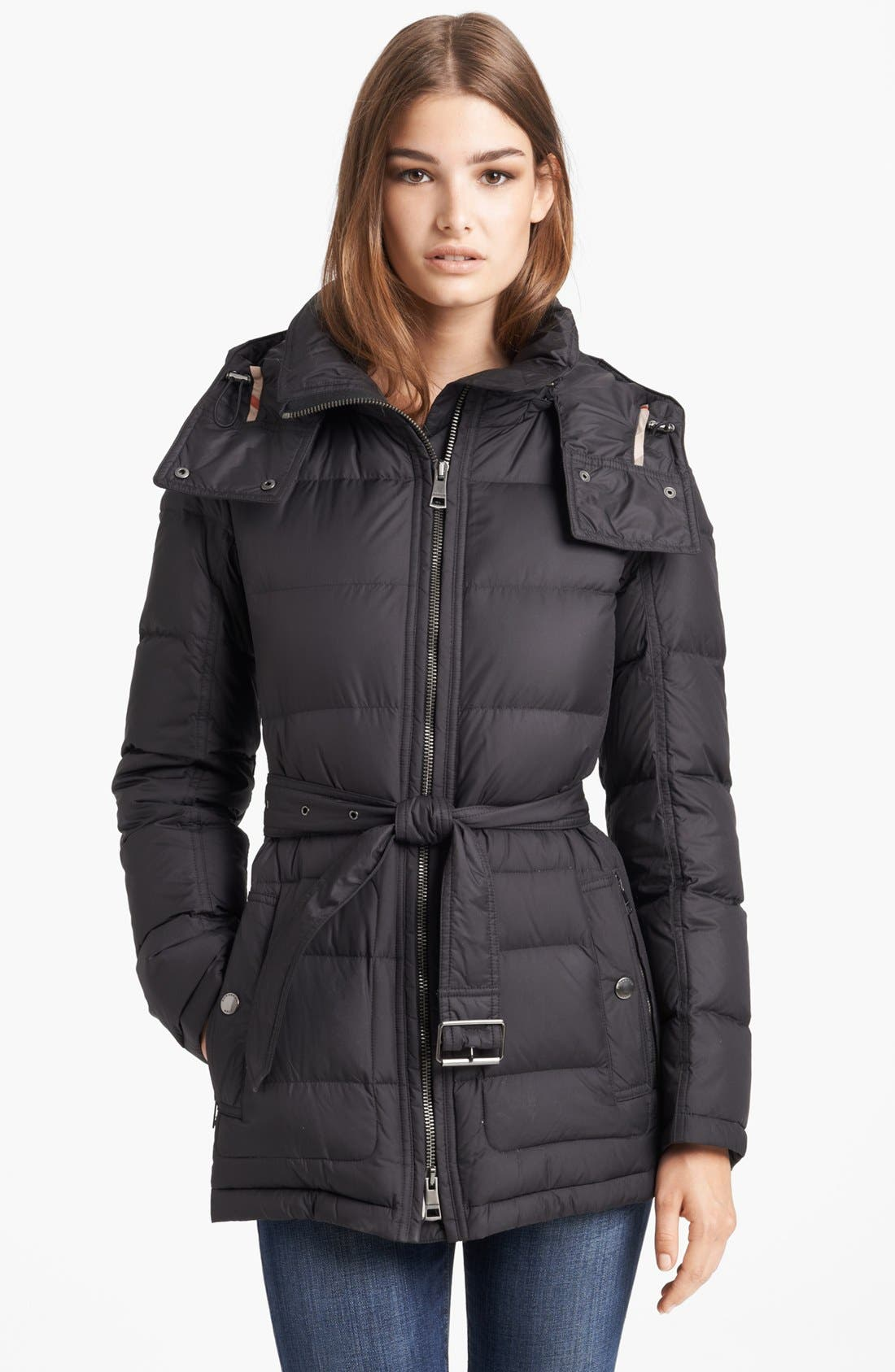 Alternate Image 1 Selected - Burberry Brit 'Mareton' Quilted Down Jacket