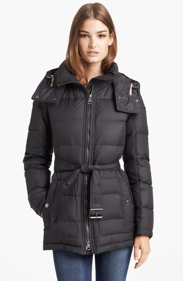 Burberry Brit 'Mareton' Quilted Down Jacket | Nordstrom : quilted down coats - Adamdwight.com