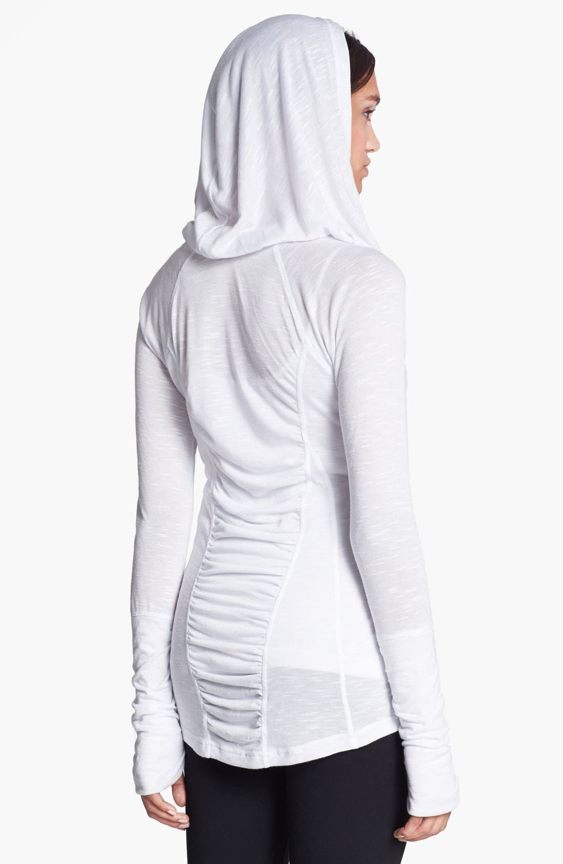 Alternate Image 2  - Zella 'All Shirred Up' Pullover