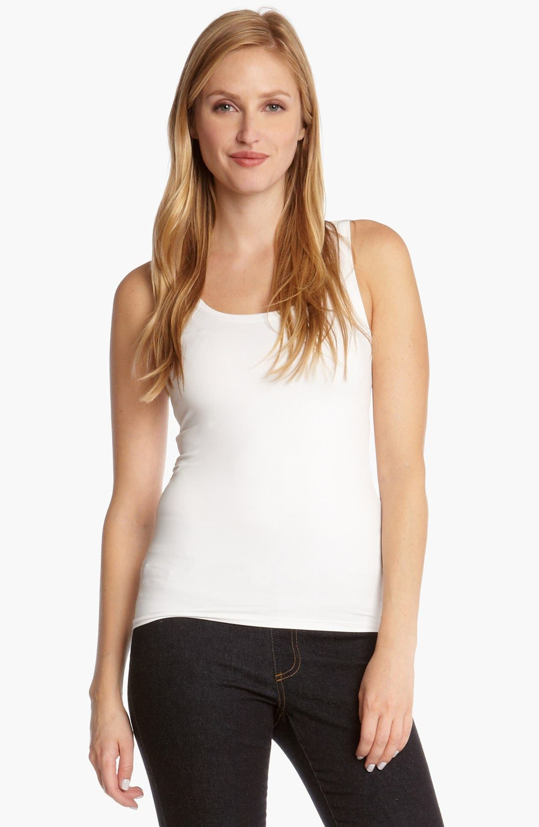 Supersoft Tank,                             Main thumbnail 1, color,                             White