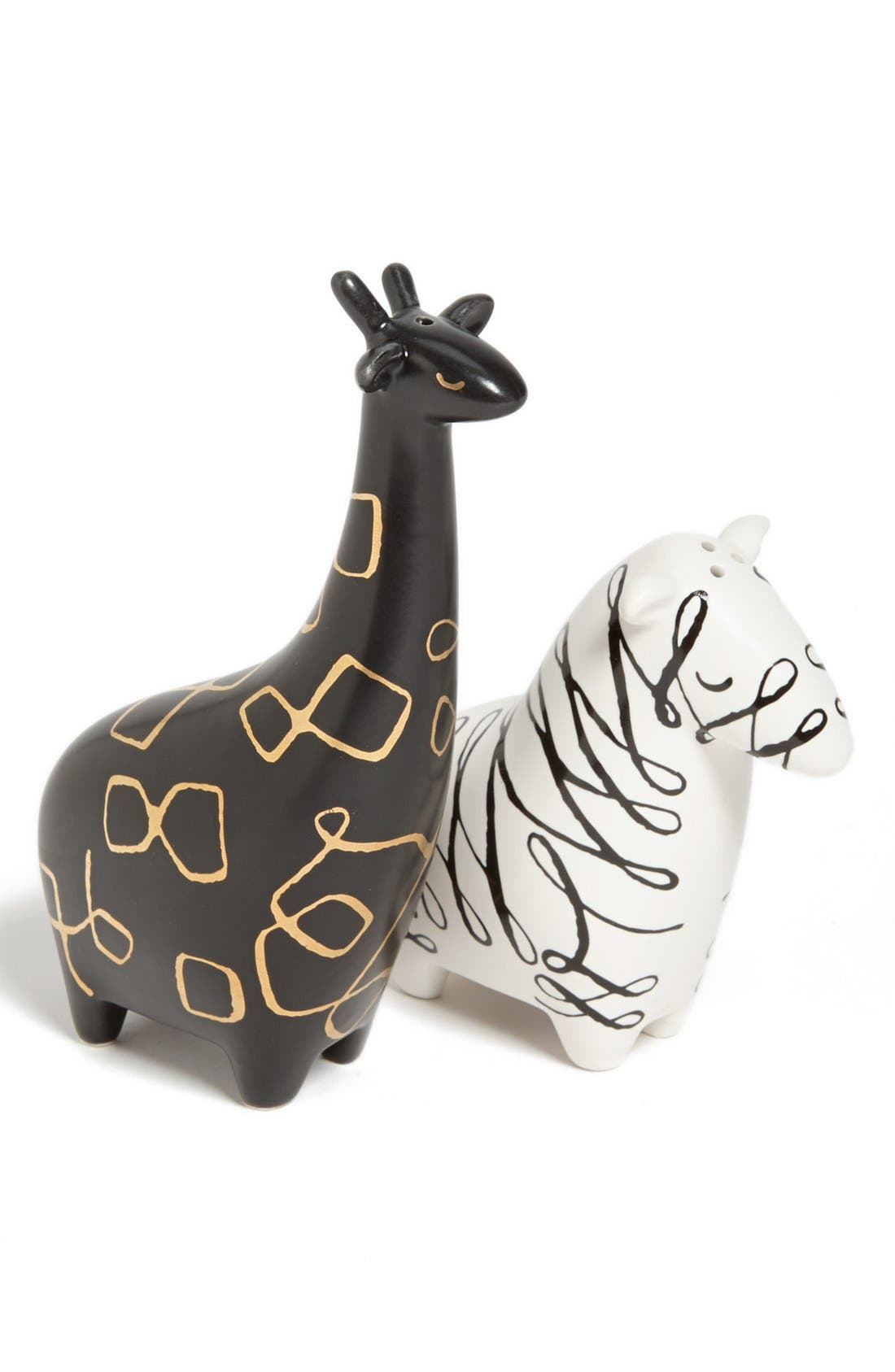 Alternate Image 1 Selected - kate spade new york zebra & giraffe salt & pepper shakers
