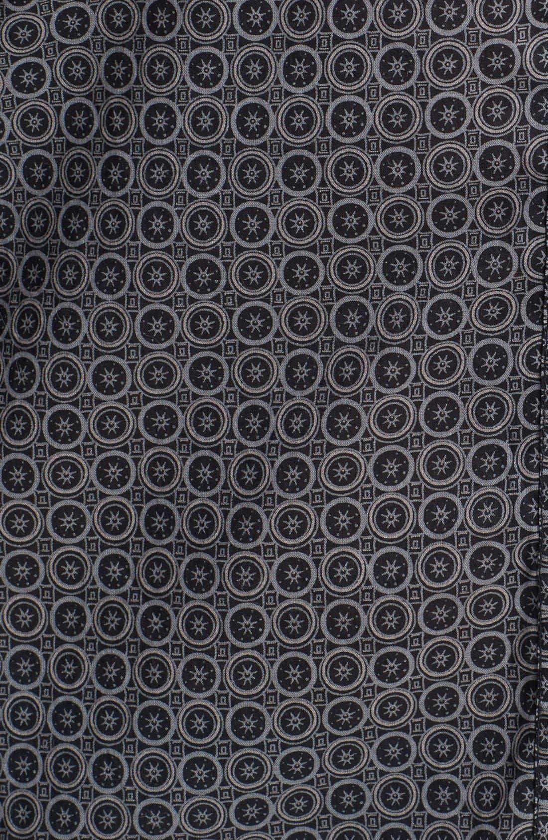 Alternate Image 3  - Halogen® Roll Sleeve Cotton Shirt (Regular & Petite)