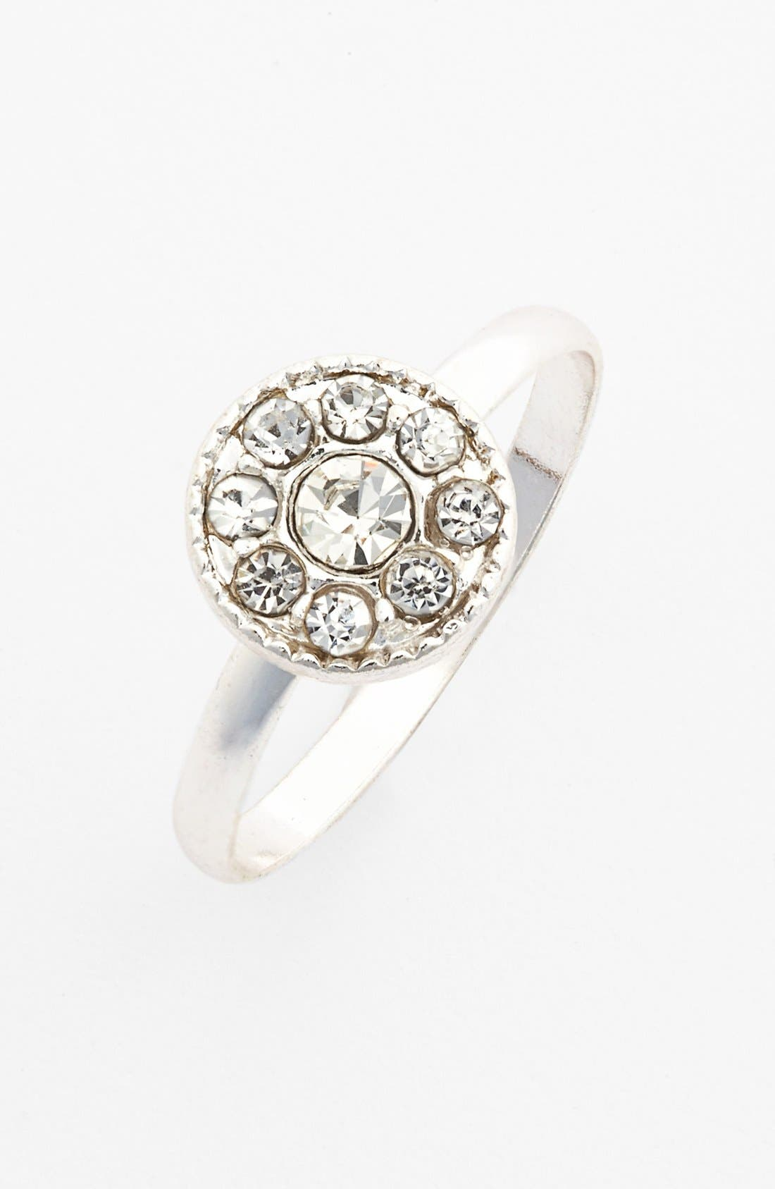 Main Image - Carole Rhinestone Ring (Juniors)
