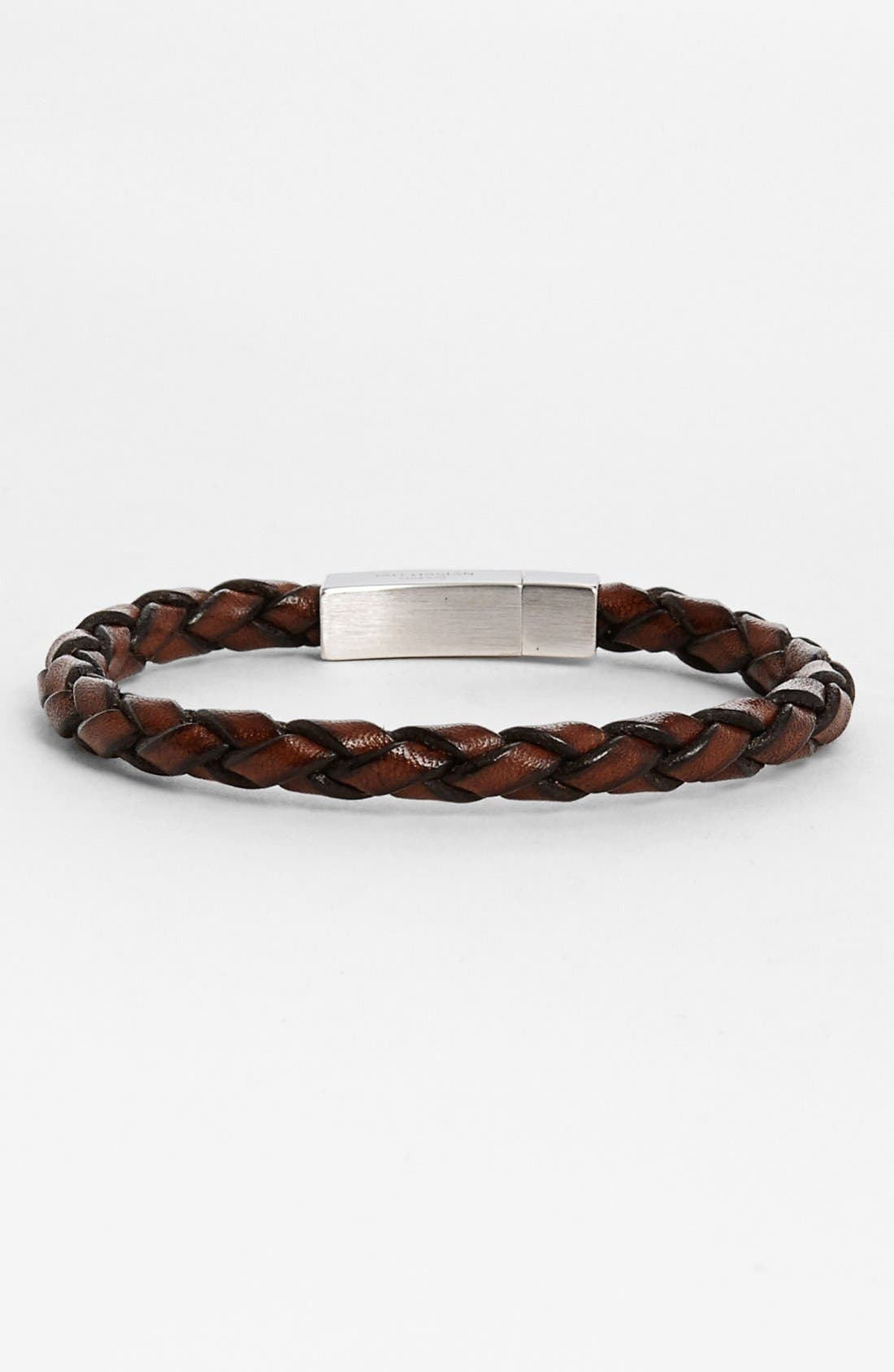 Scoubidou Bracelet,                         Main,                         color, Brown