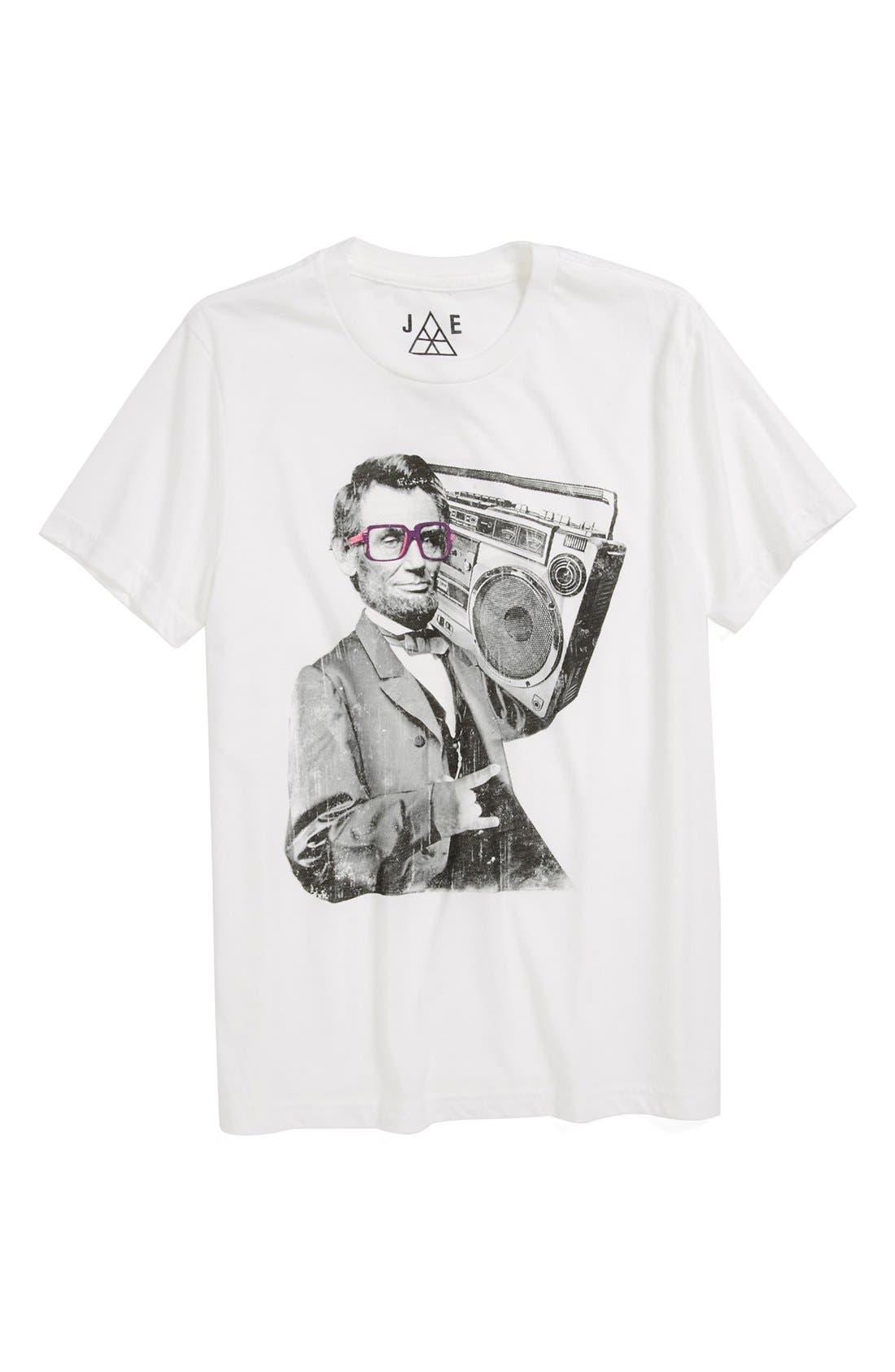Alternate Image 1 Selected - Jem 'Bad Lincoln' T-Shirt (Little Boys)