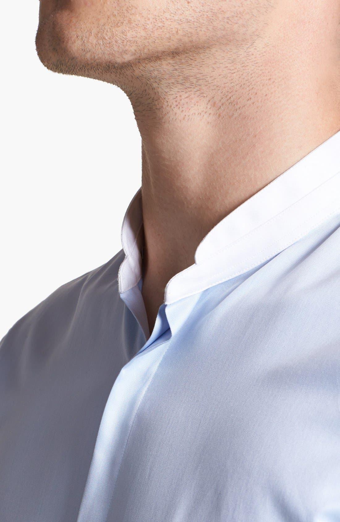Alternate Image 4  - The Kooples Round Collar Dress Shirt
