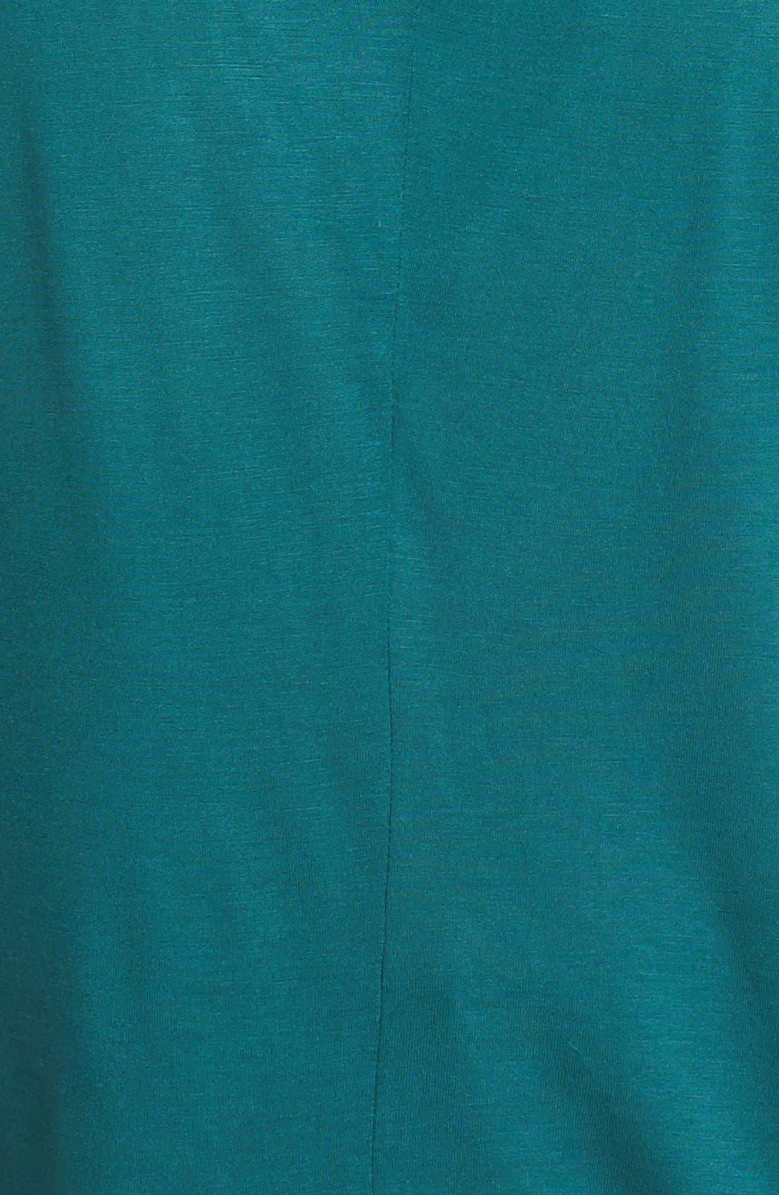 Alternate Image 3  - Halogen® Slit Back Mixed Media Top (Petite)