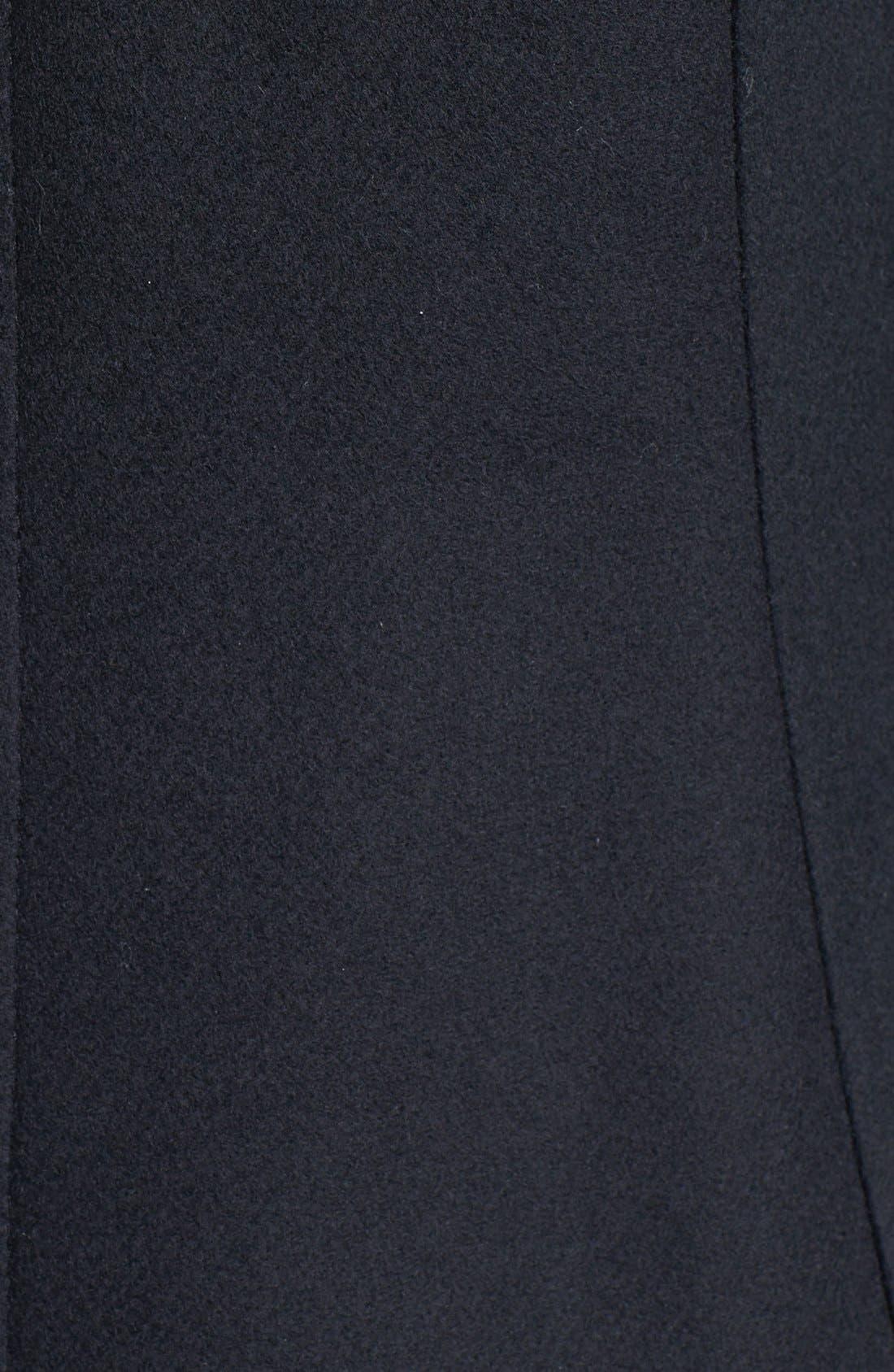 Alternate Image 3  - Kristen Blake Hooded Wool Blend Duffle Coat (Nordstrom Exclusive)