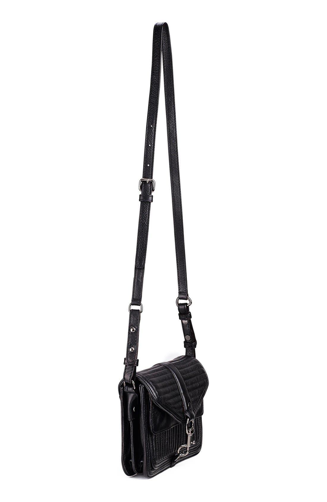Alternate Image 2  - Rebecca Minkoff 'Hudson - Moto Mini' Crossbody Bag