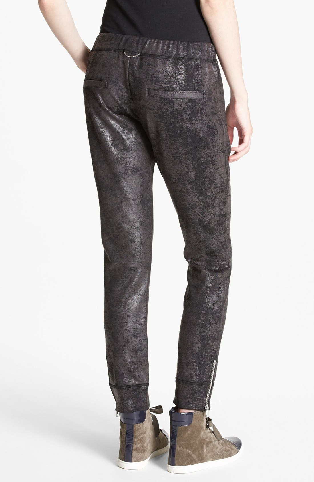 Alternate Image 2  - The Kooples 'Oil Slick' Print Sweatpants