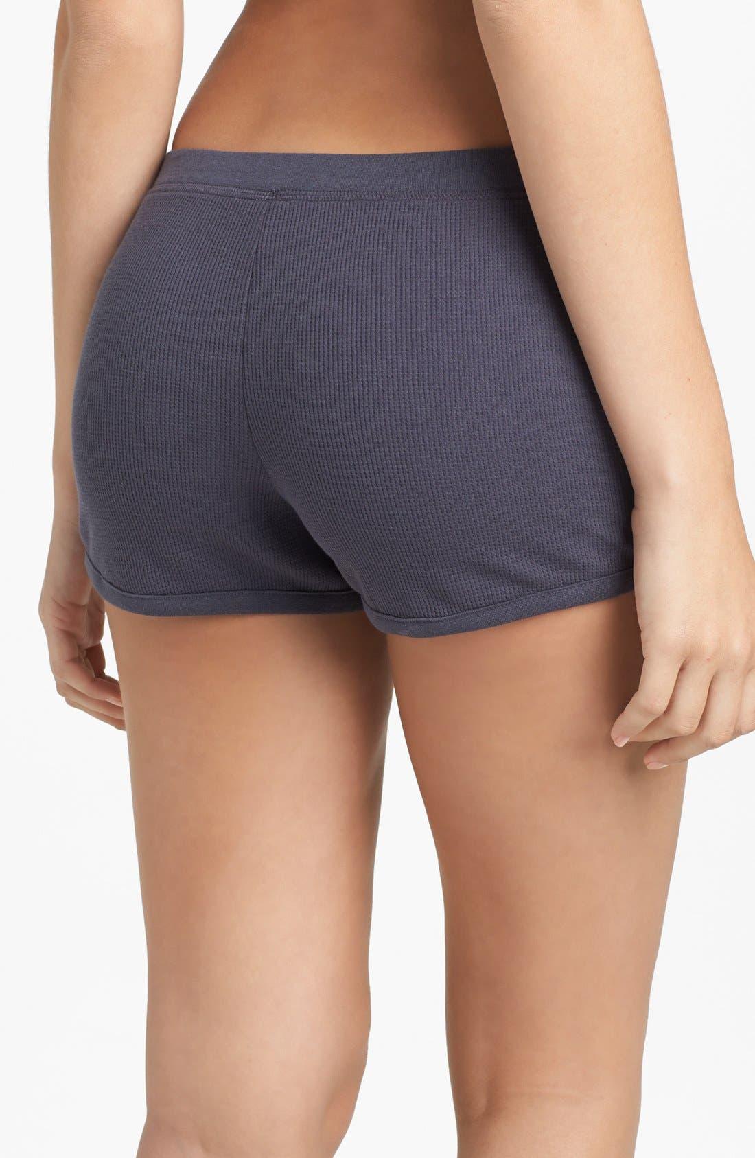 Alternate Image 2  - BP. Undercover 'Campside' Thermal Shorts (Juniors)